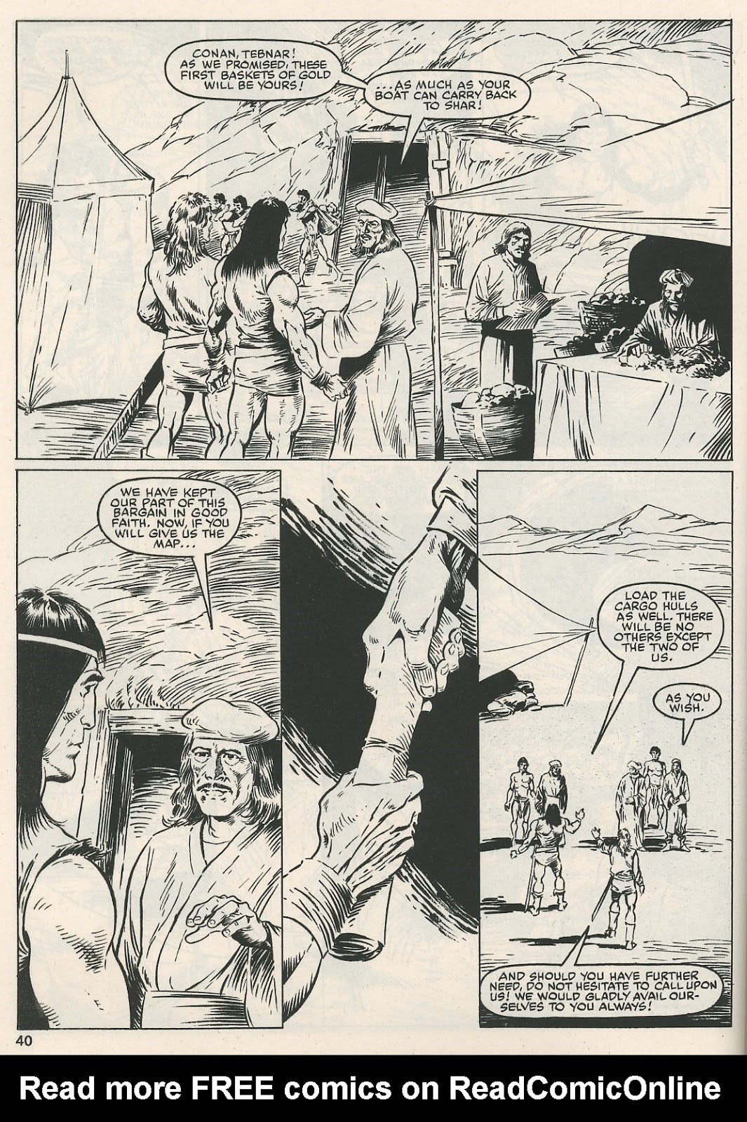 The Savage Sword Of Conan Issue #115 #116 - English 40