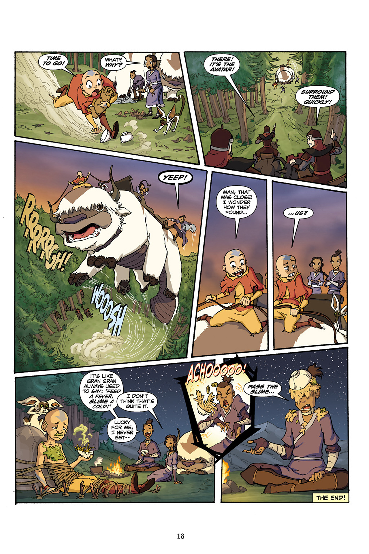 Nickelodeon Avatar: The Last Airbender - The Lost Adventures chap full pic 19