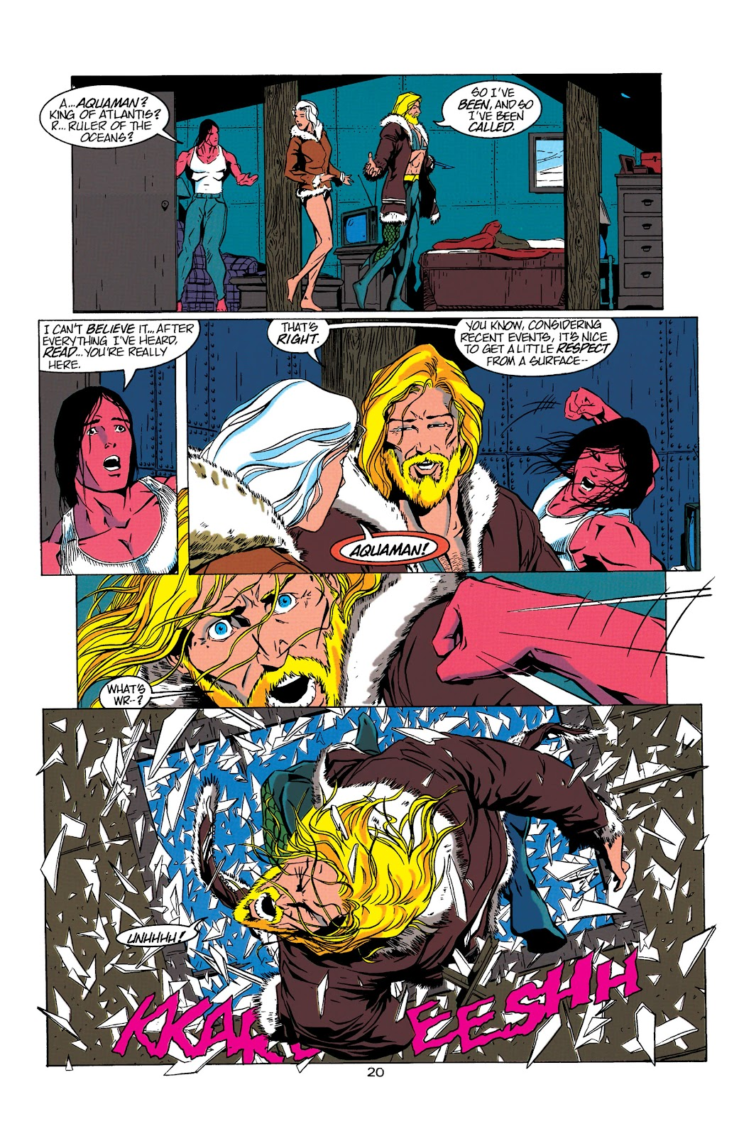 Aquaman (1994) Issue #5 #11 - English 21