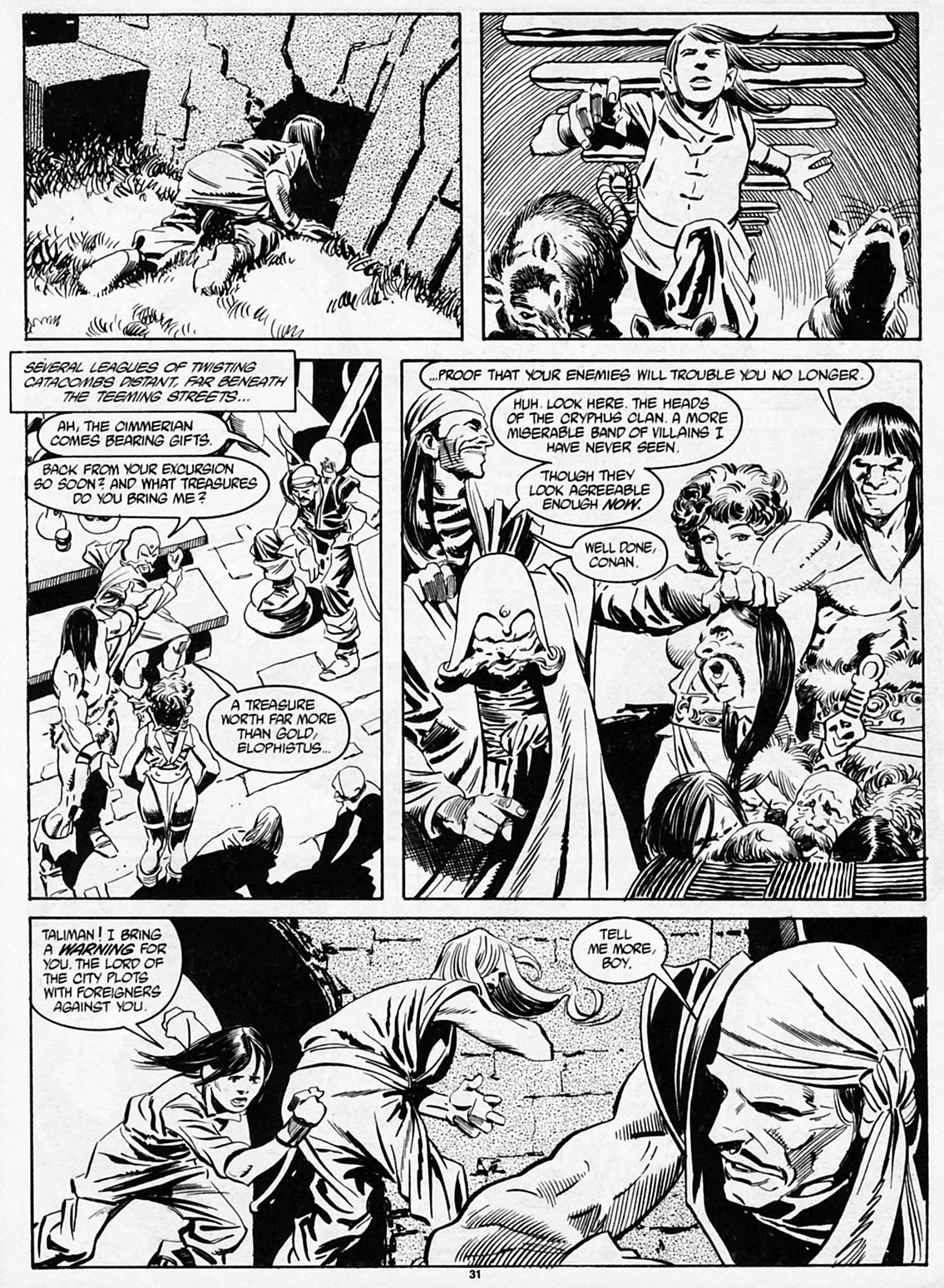 The Savage Sword Of Conan Issue #186 #187 - English 33