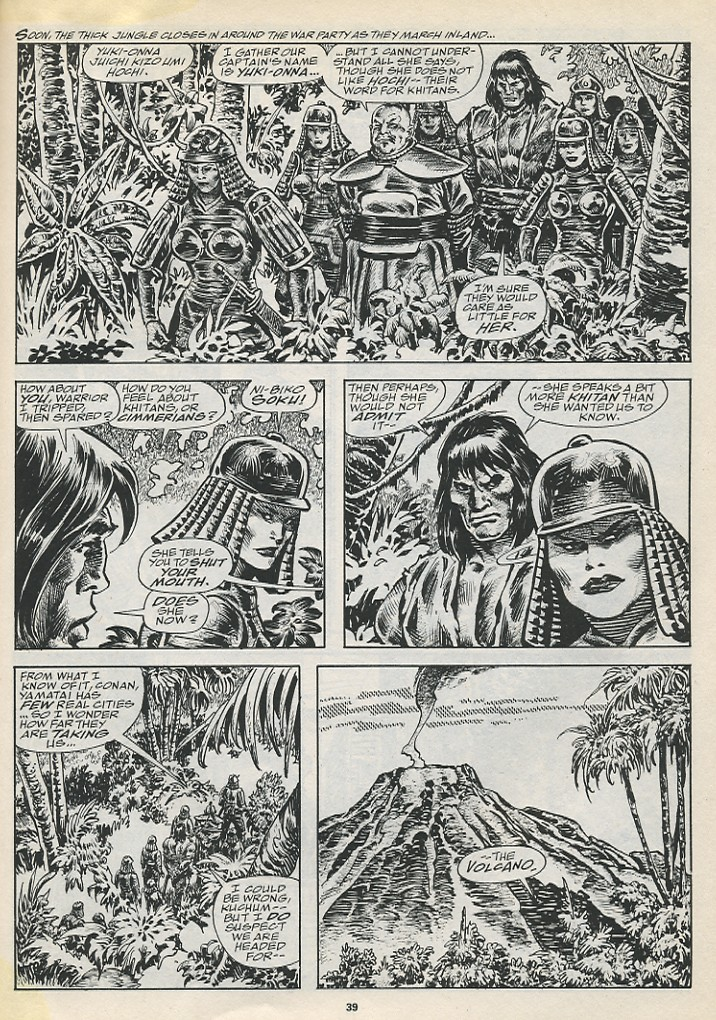 The Savage Sword Of Conan Issue #194 #195 - English 41
