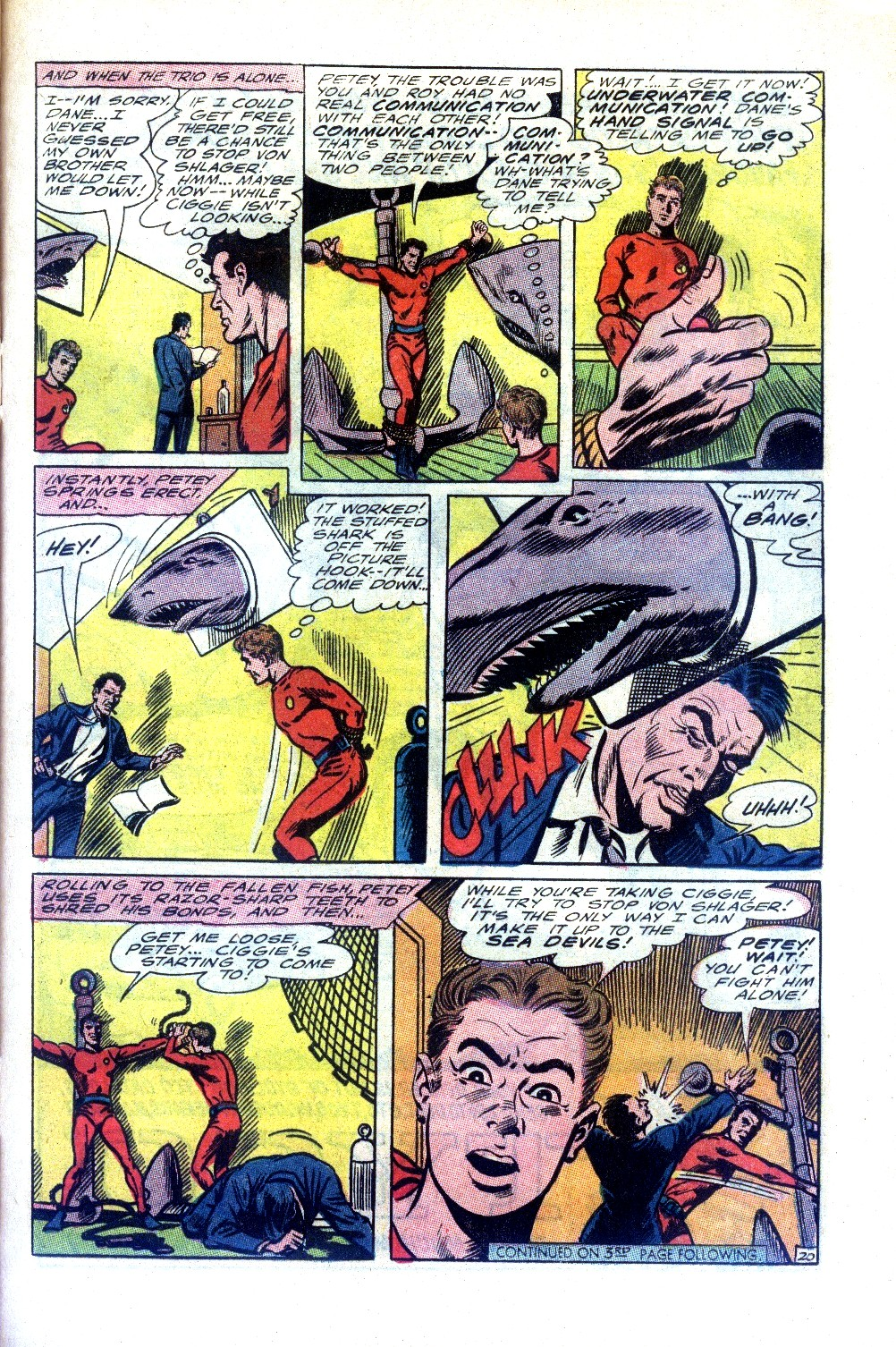 Read online Sea Devils comic -  Issue #27 - 26