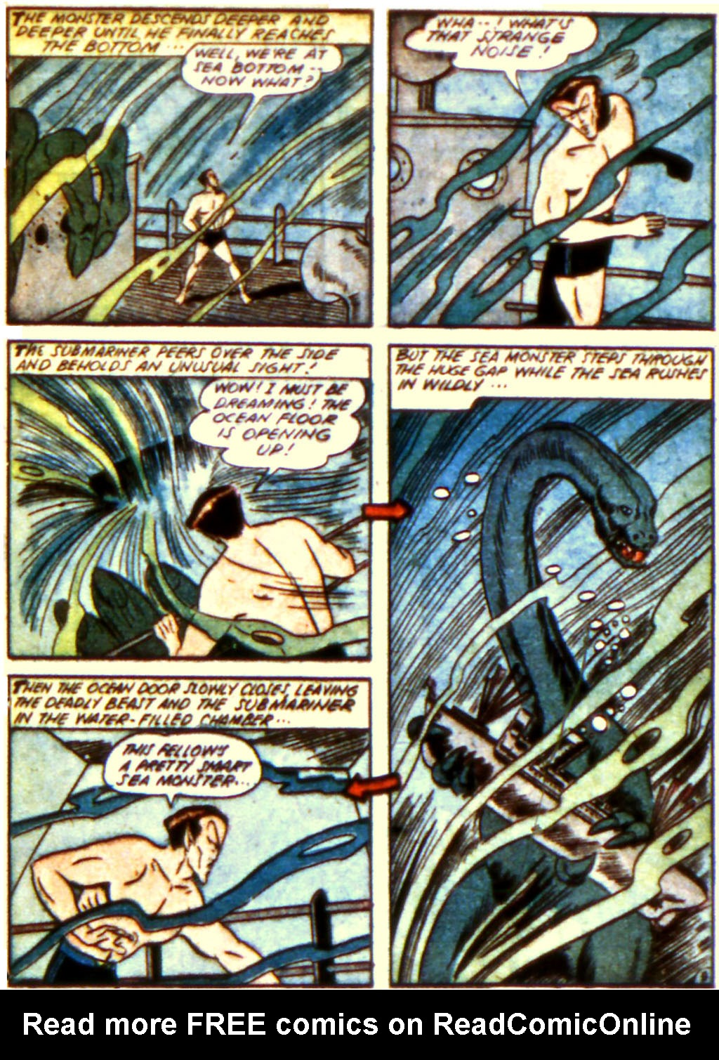 Sub-Mariner Comics Issue #12 #12 - English 23