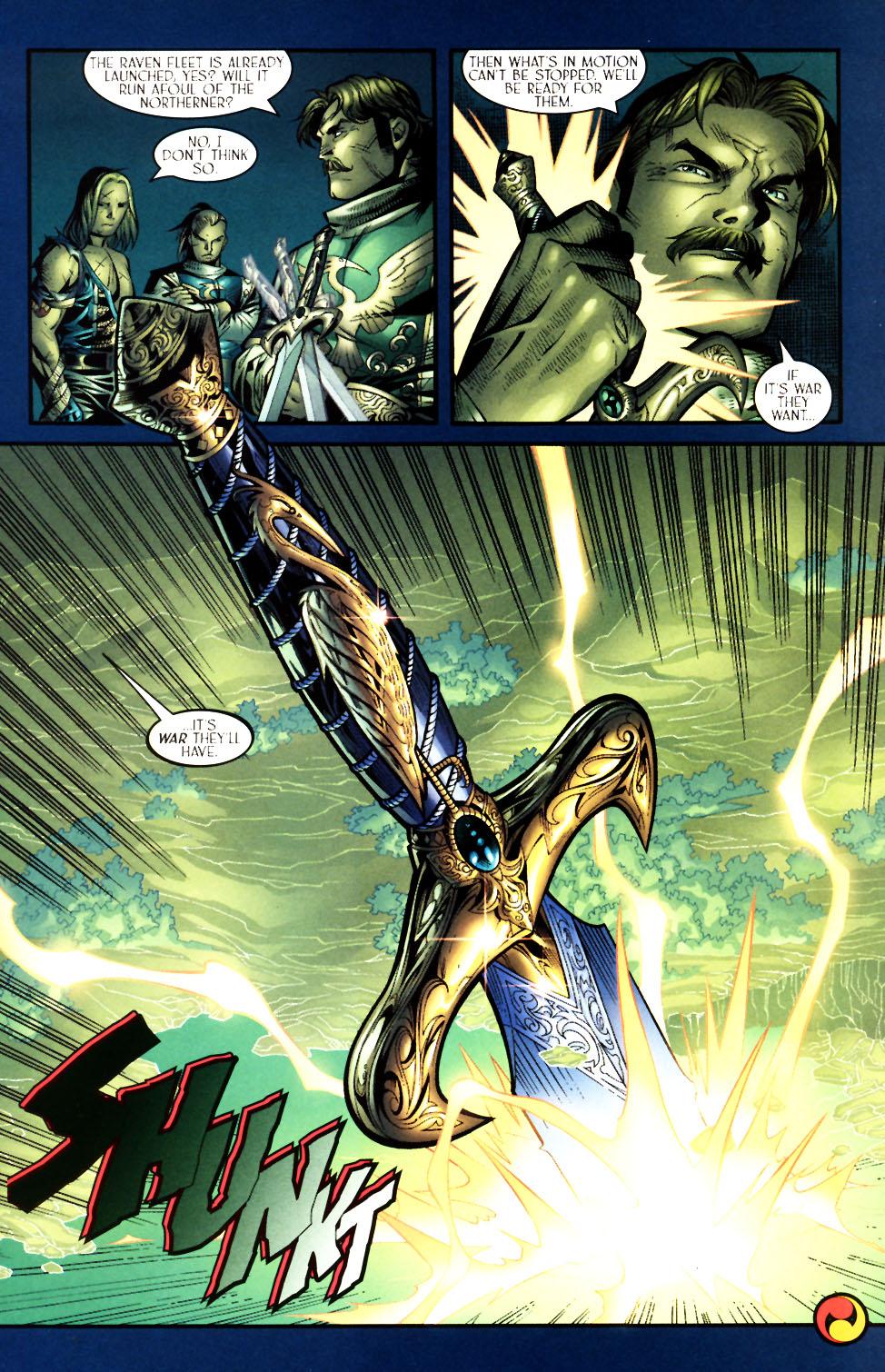 Read online Scion comic -  Issue #5 - 22