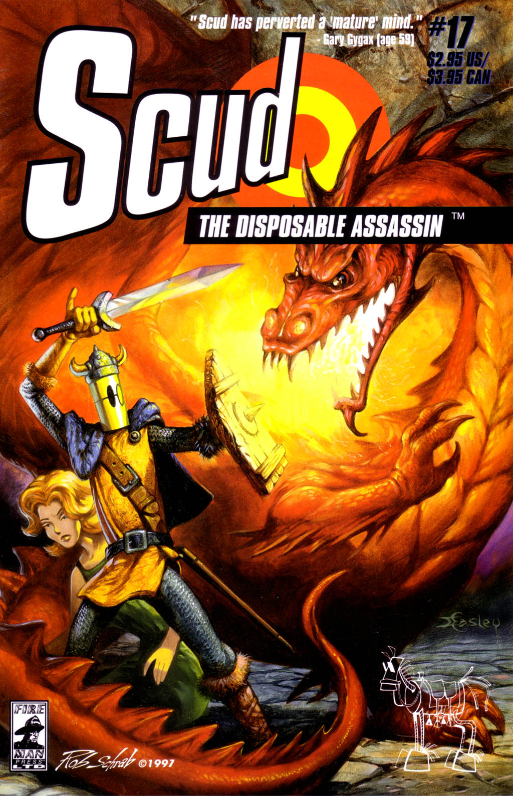 Read online Scud: The Disposable Assassin (1994) comic -  Issue #17 - 1