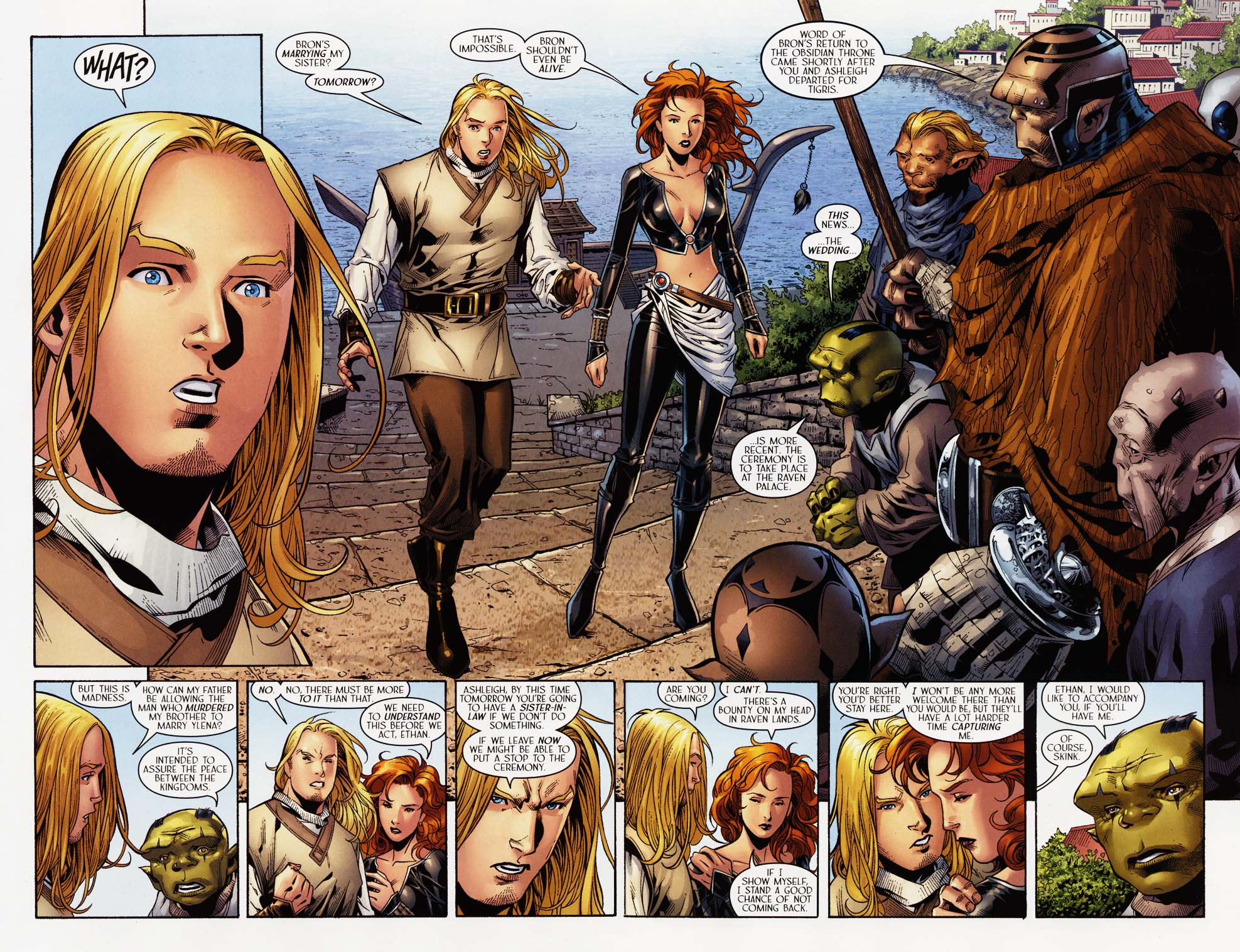 Read online Scion comic -  Issue #35 - 4