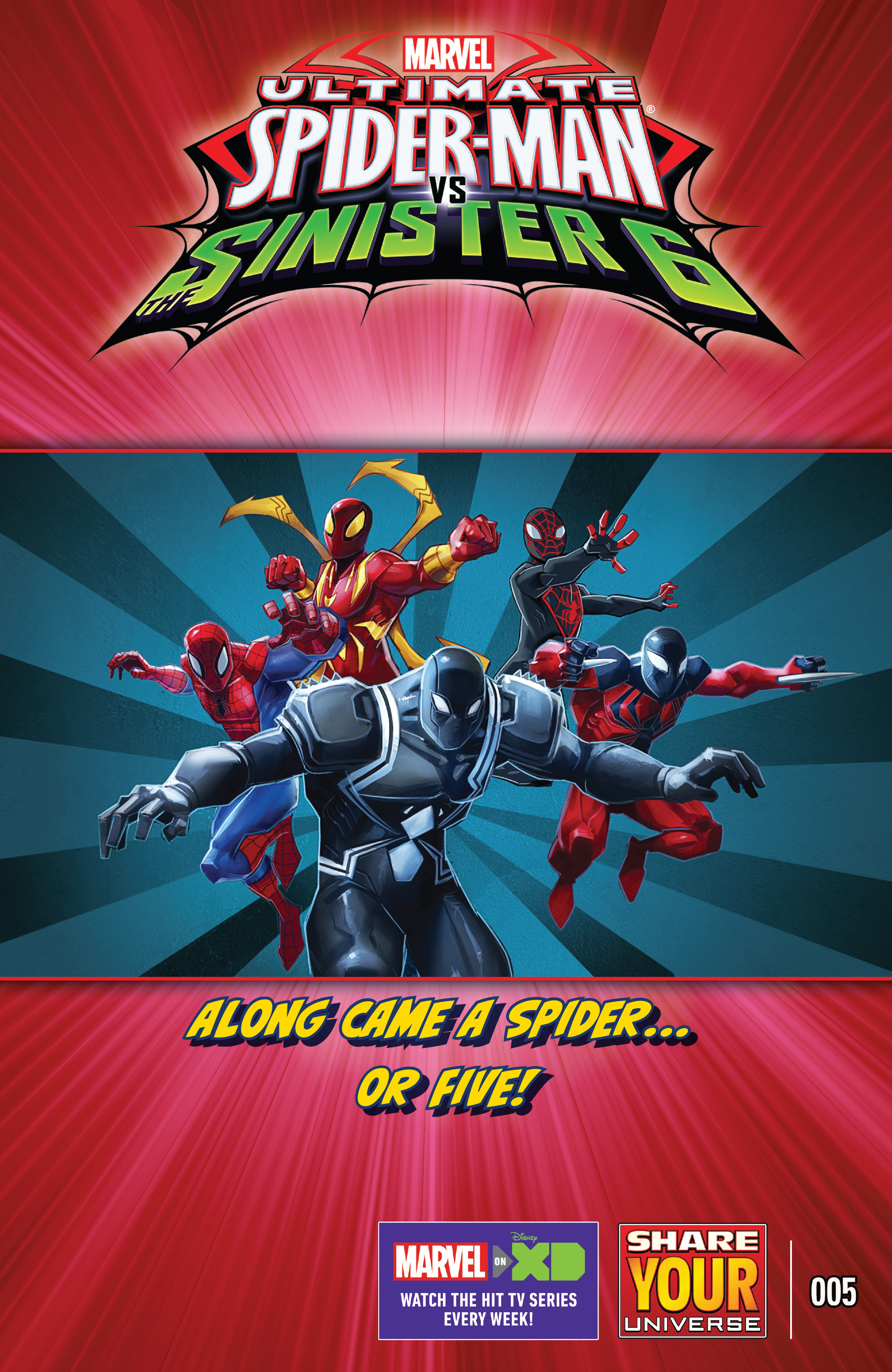 marvel universe ultimate spider man vs the sinister six chapter 5 pic