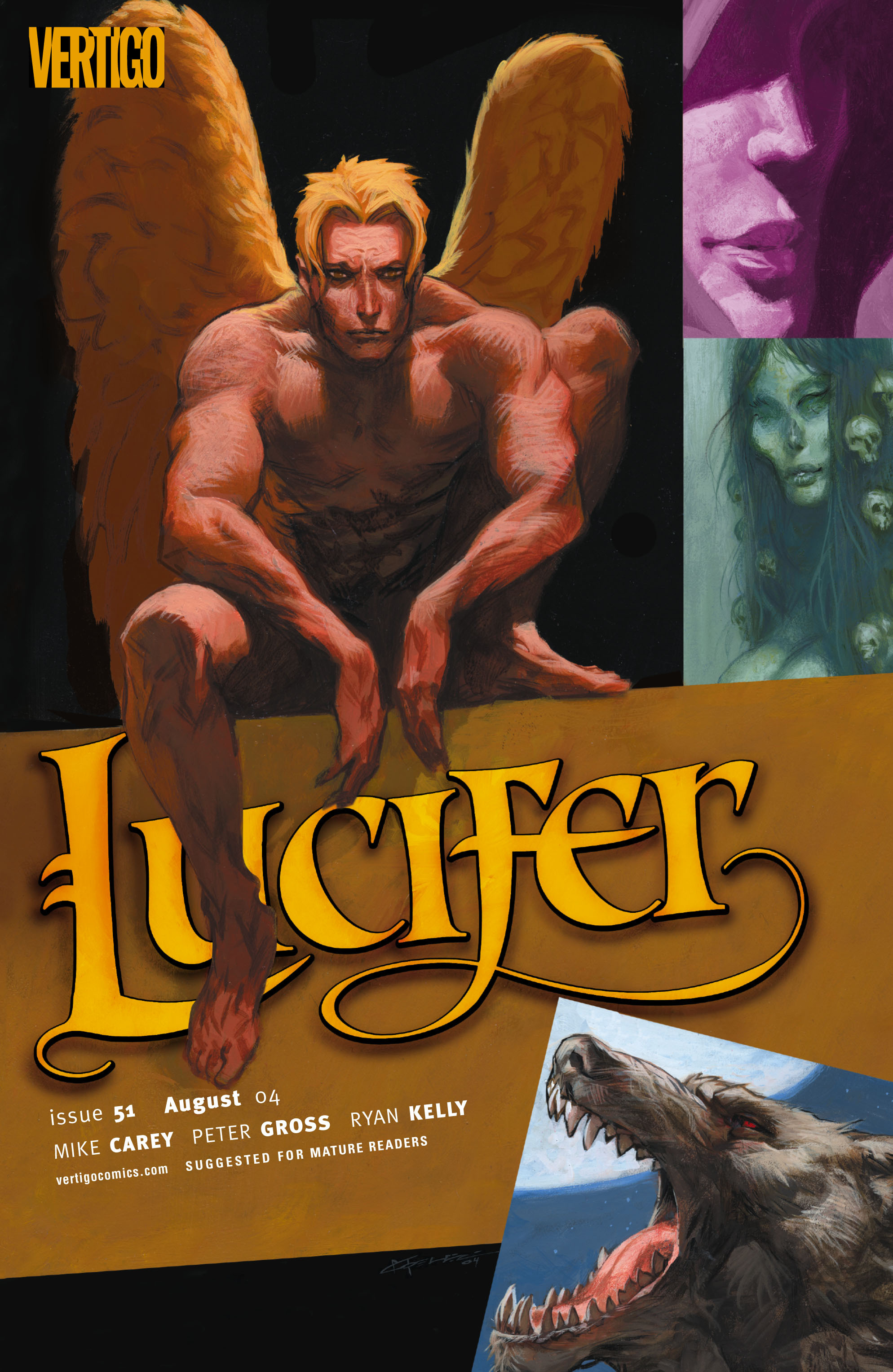 Lucifer (2000) issue 51 - Page 1