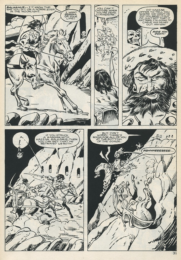The Savage Sword Of Conan Issue #131 #132 - English 31