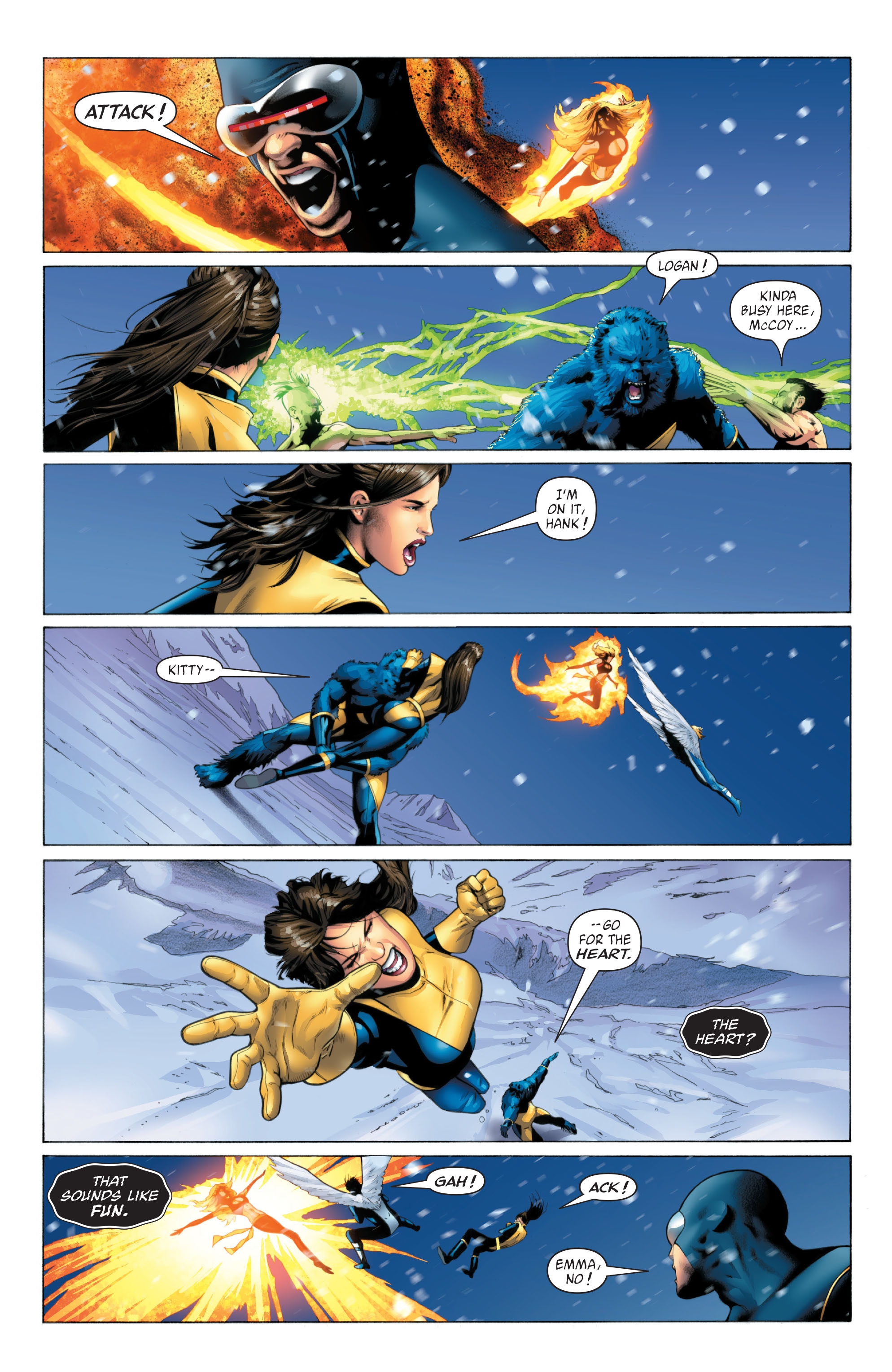Read online X-Men: Phoenix - Endsong comic -  Issue #5 - 5