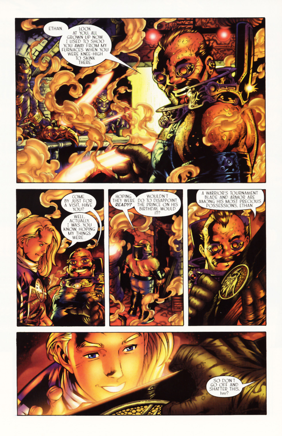 Read online Scion comic -  Issue #1 - 11