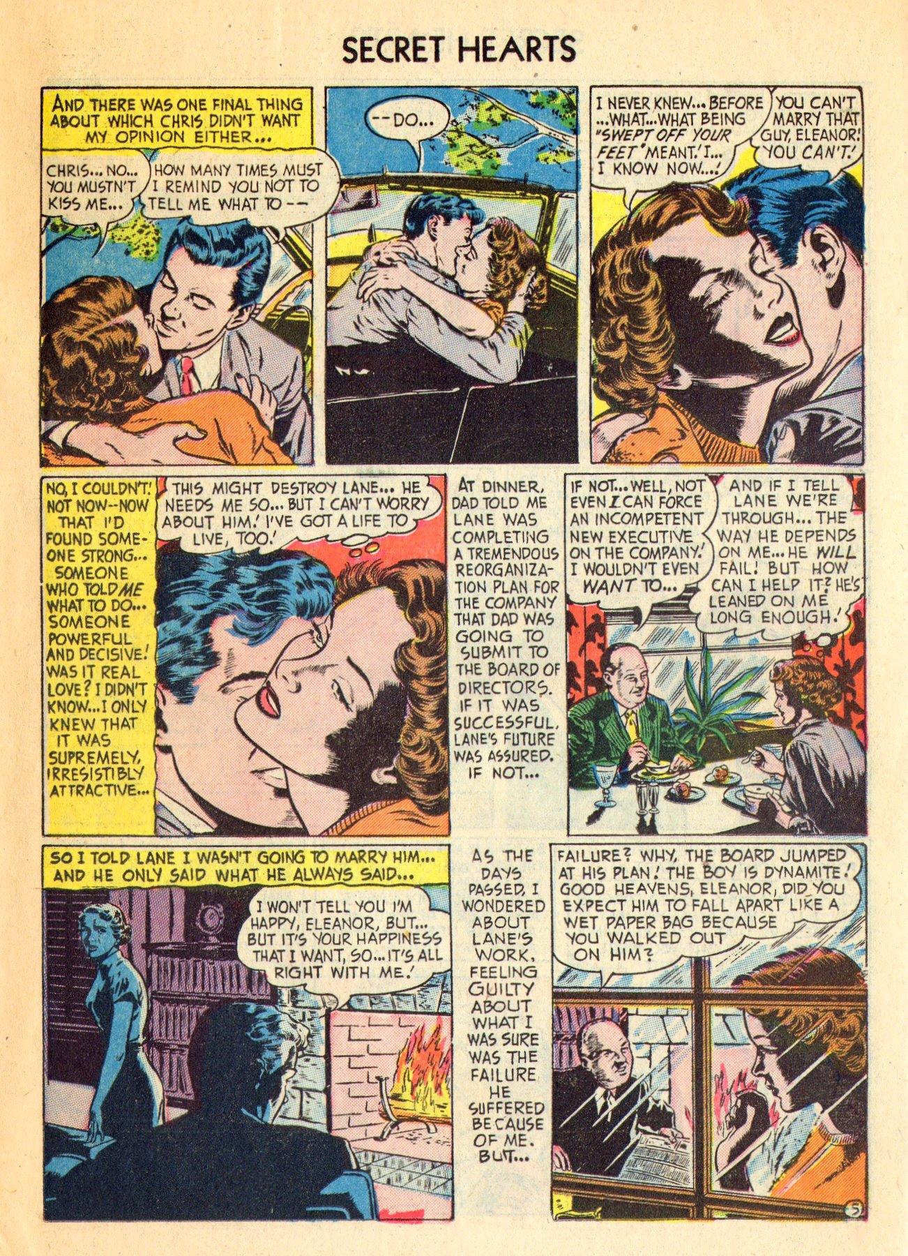Read online Secret Hearts comic -  Issue #18 - 15