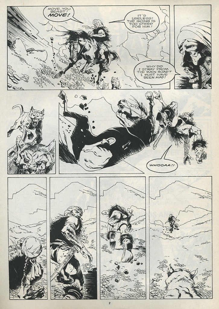 The Savage Sword Of Conan Issue #175 #176 - English 4