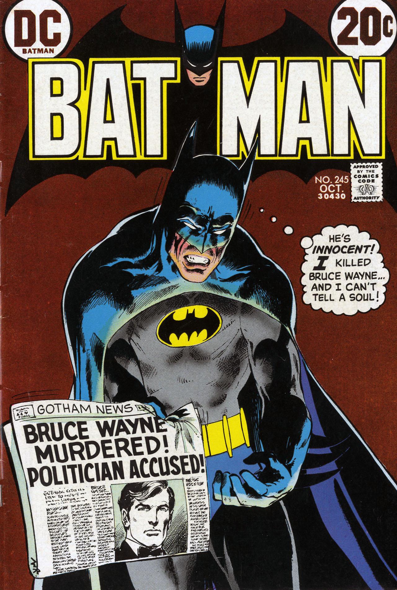 Batman (1940) 245 Page 1