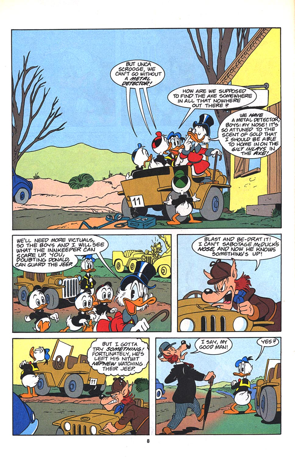 Uncle Scrooge (1953) Issue #272 #272 - English 9
