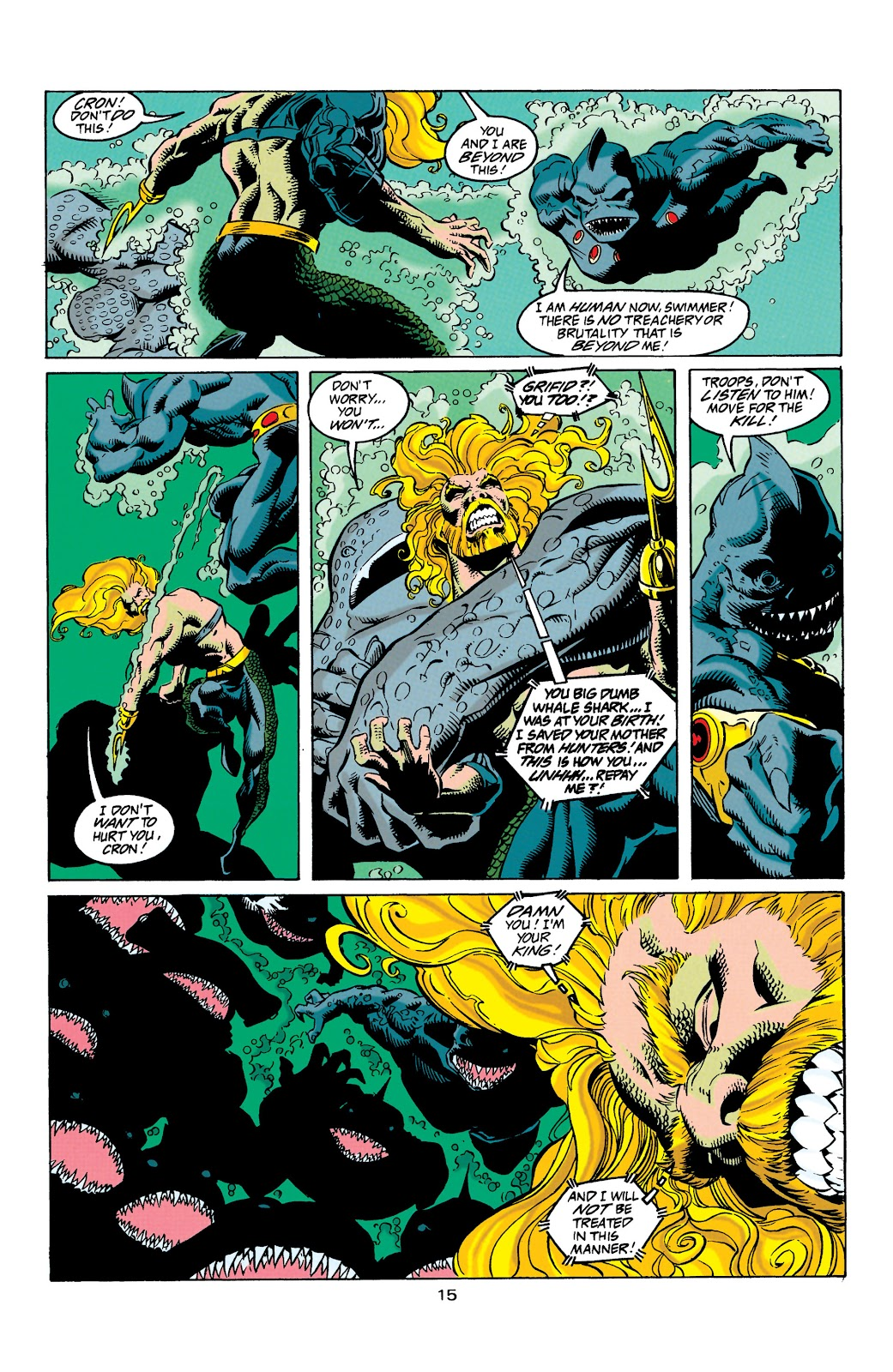 Aquaman (1994) Issue #31 #37 - English 16