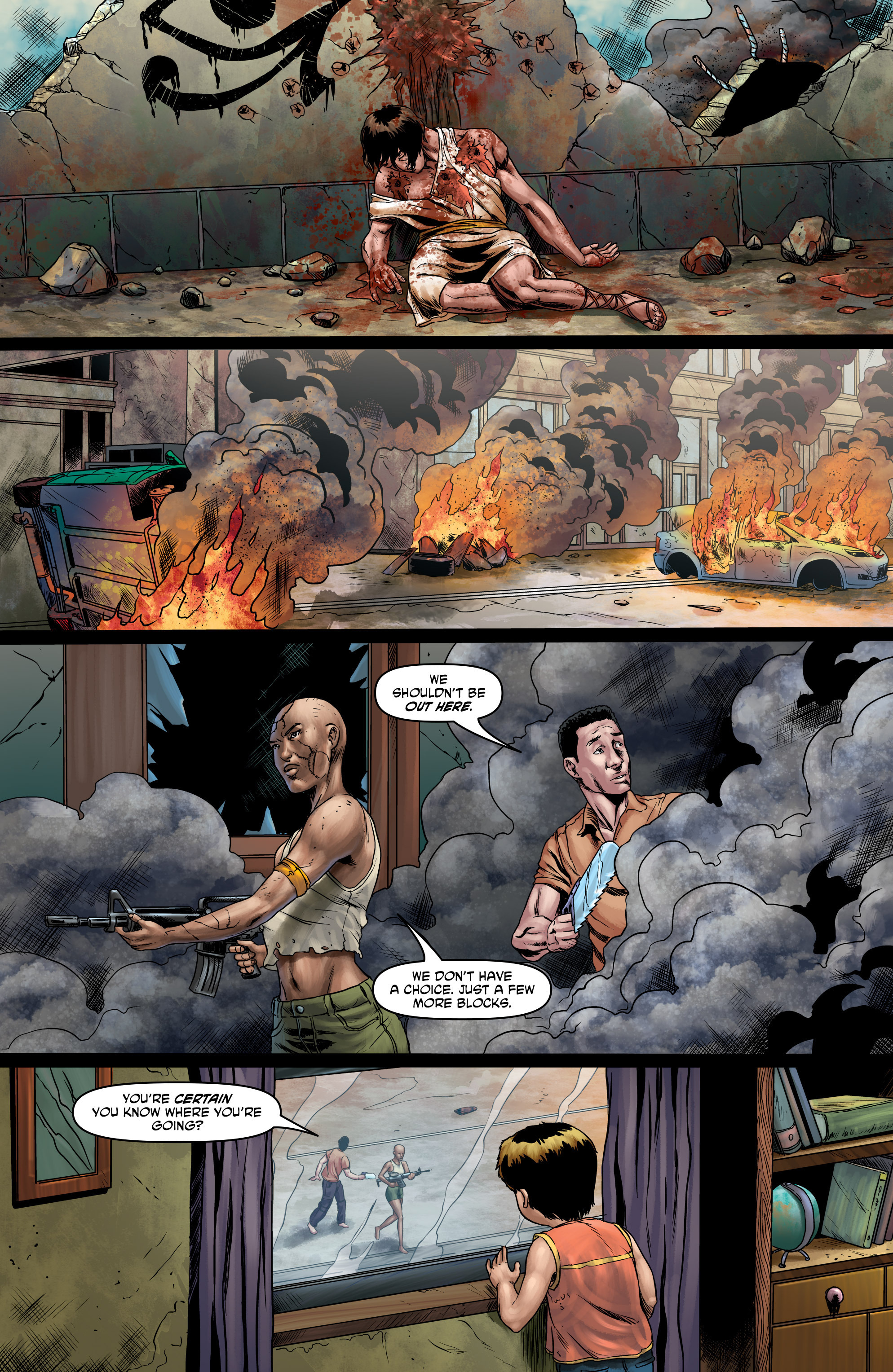 Read online God Is Dead comic -  Issue #47 - 11