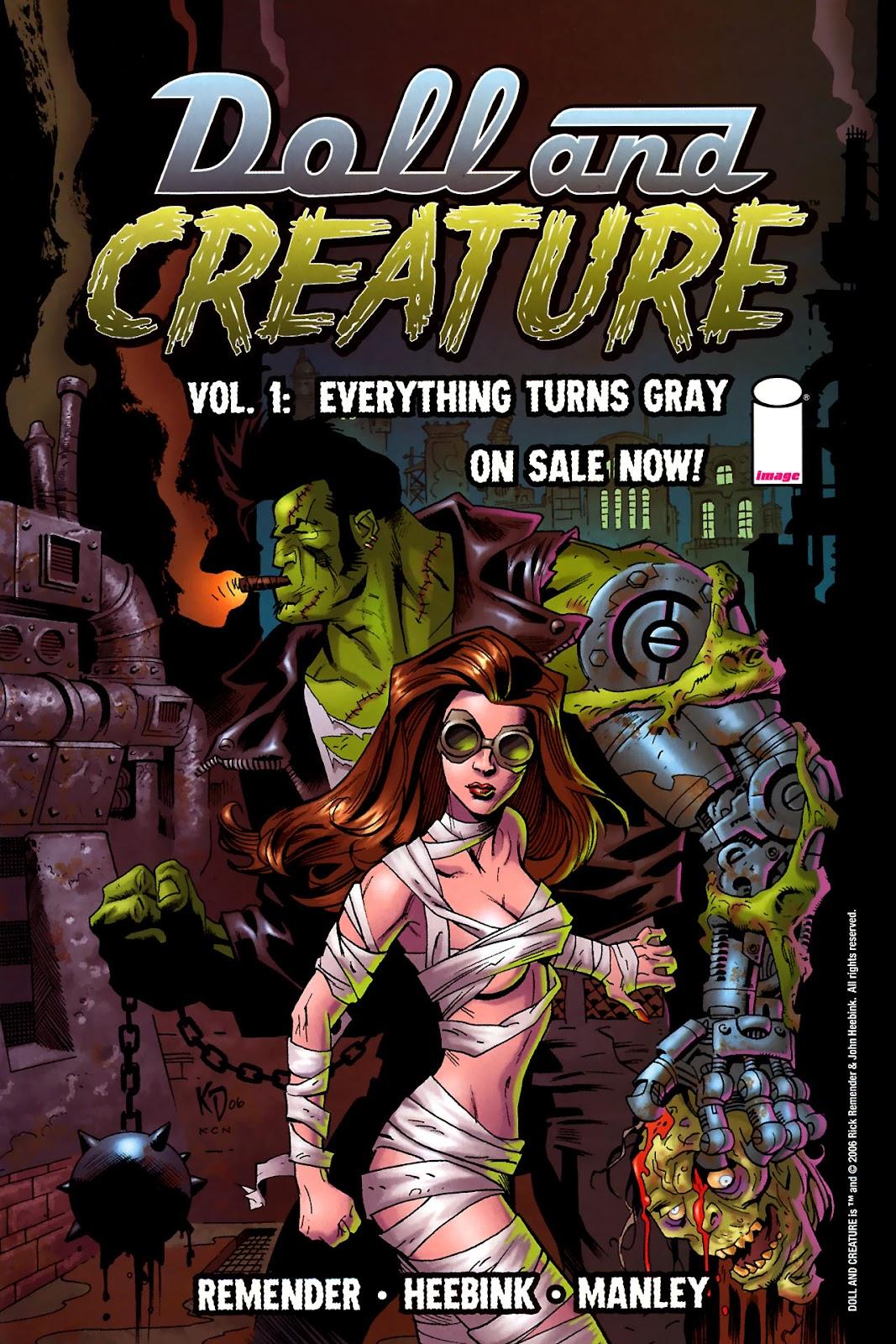 Strange Girl Issue #15 #16 - English 26