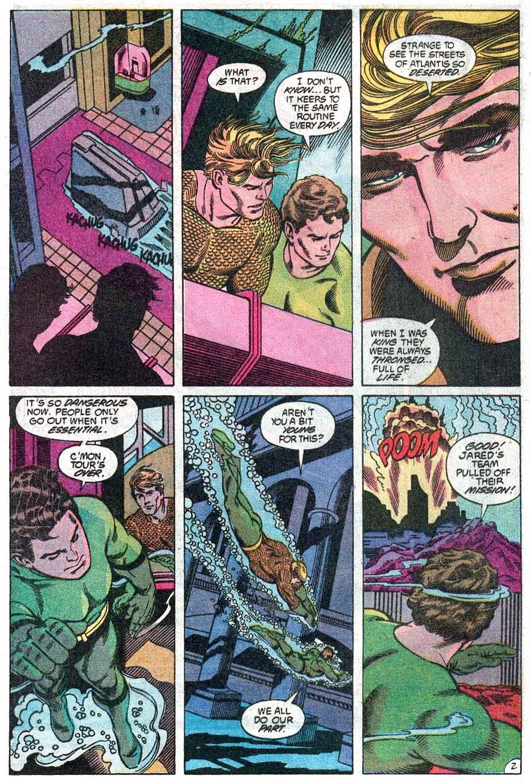 Aquaman (1989) Issue #2 #2 - English 3
