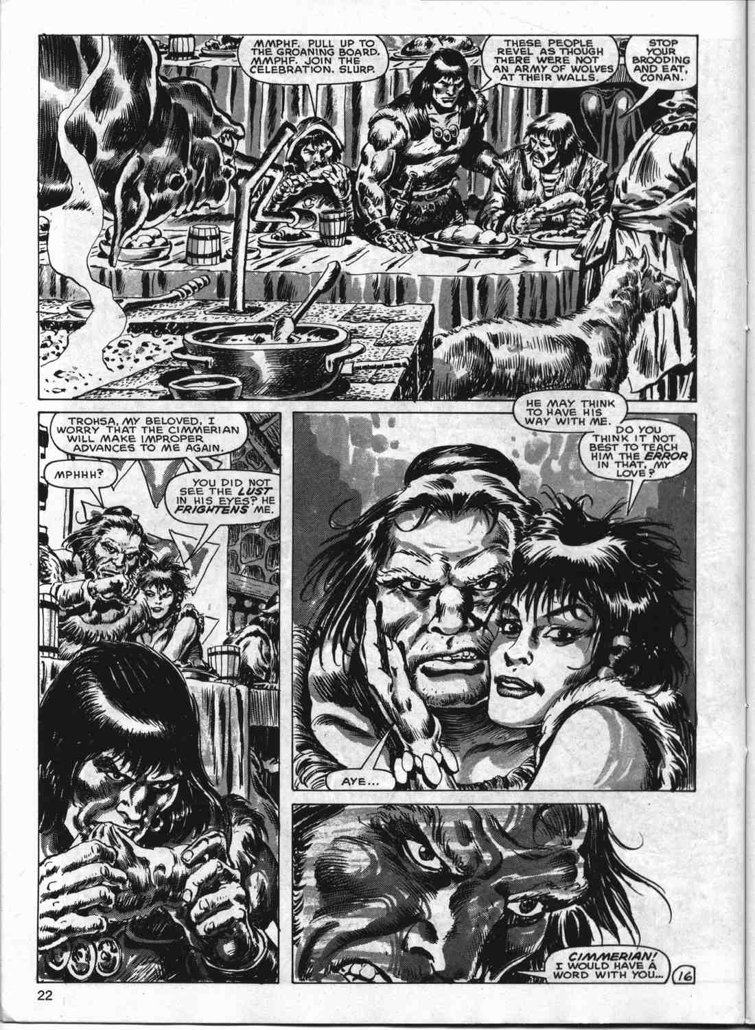 The Savage Sword Of Conan Issue #133 #134 - English 21