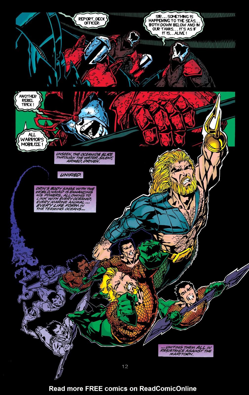 Aquaman (1994) Issue #48 #54 - English 12