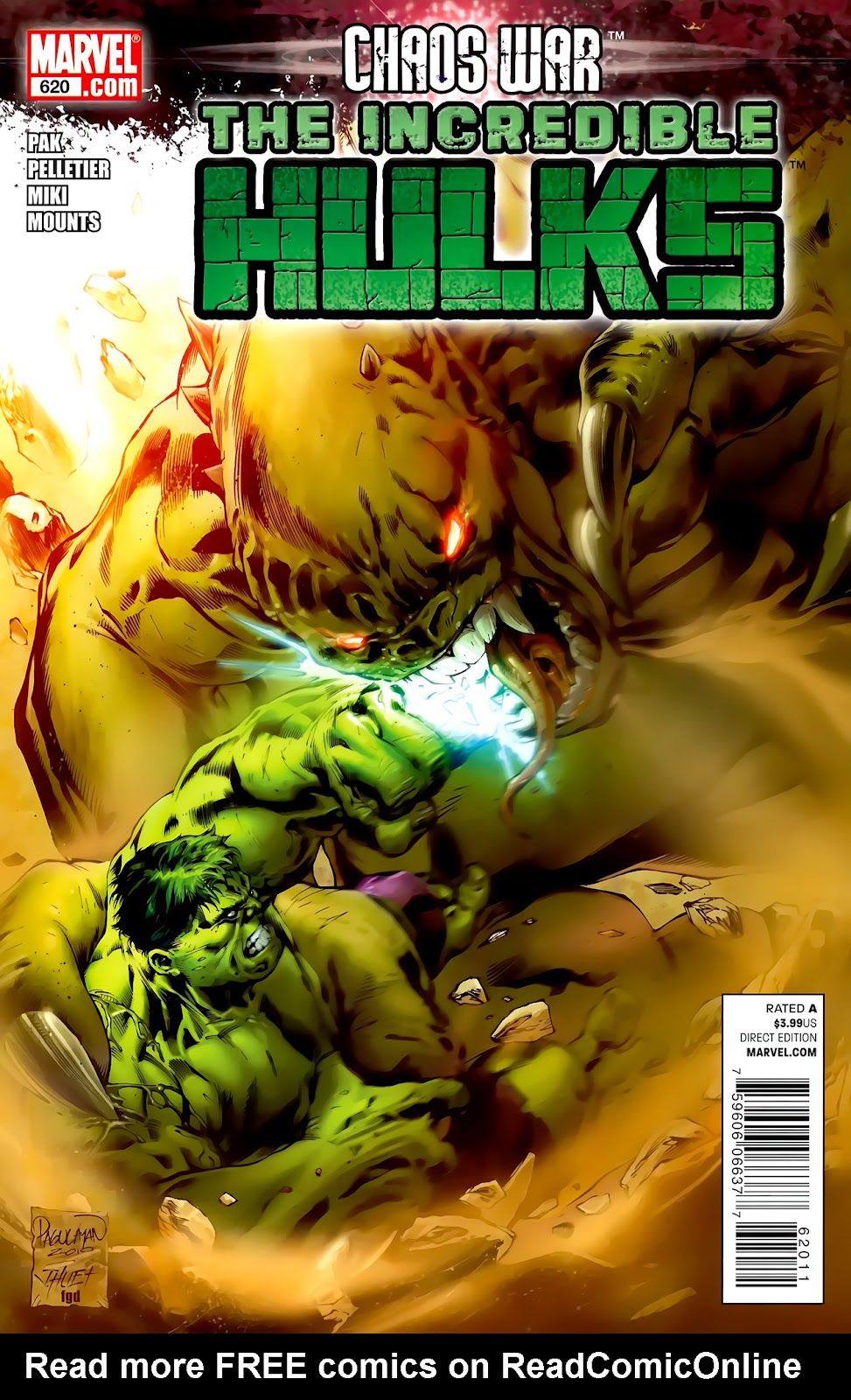 Incredible Hulks (2010) Issue #620 #10 - English 1