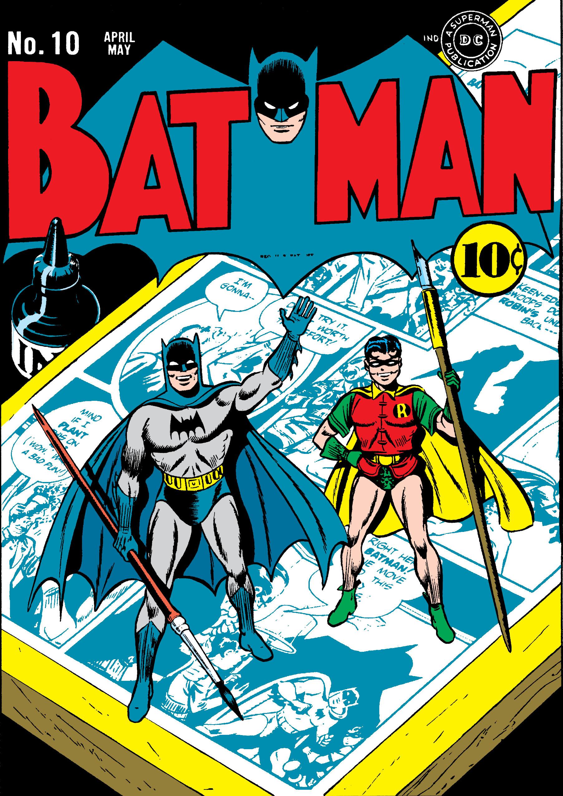 Batman (1940) 10 Page 1