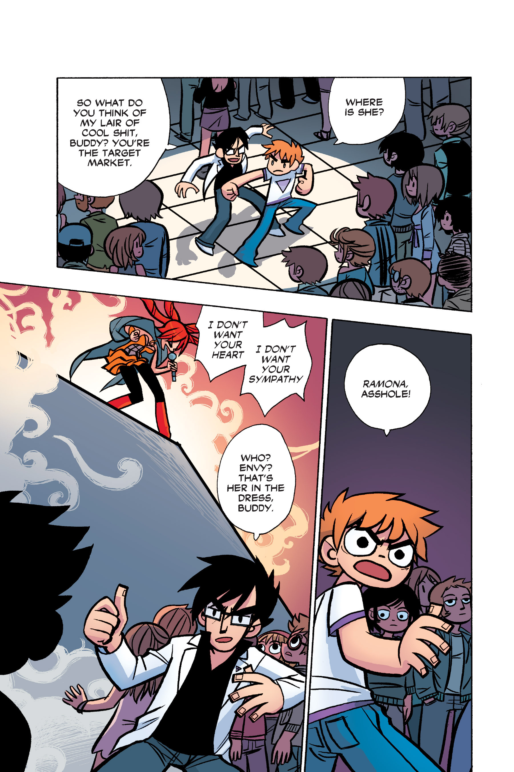 Read online Scott Pilgrim comic -  Issue #6 - 118