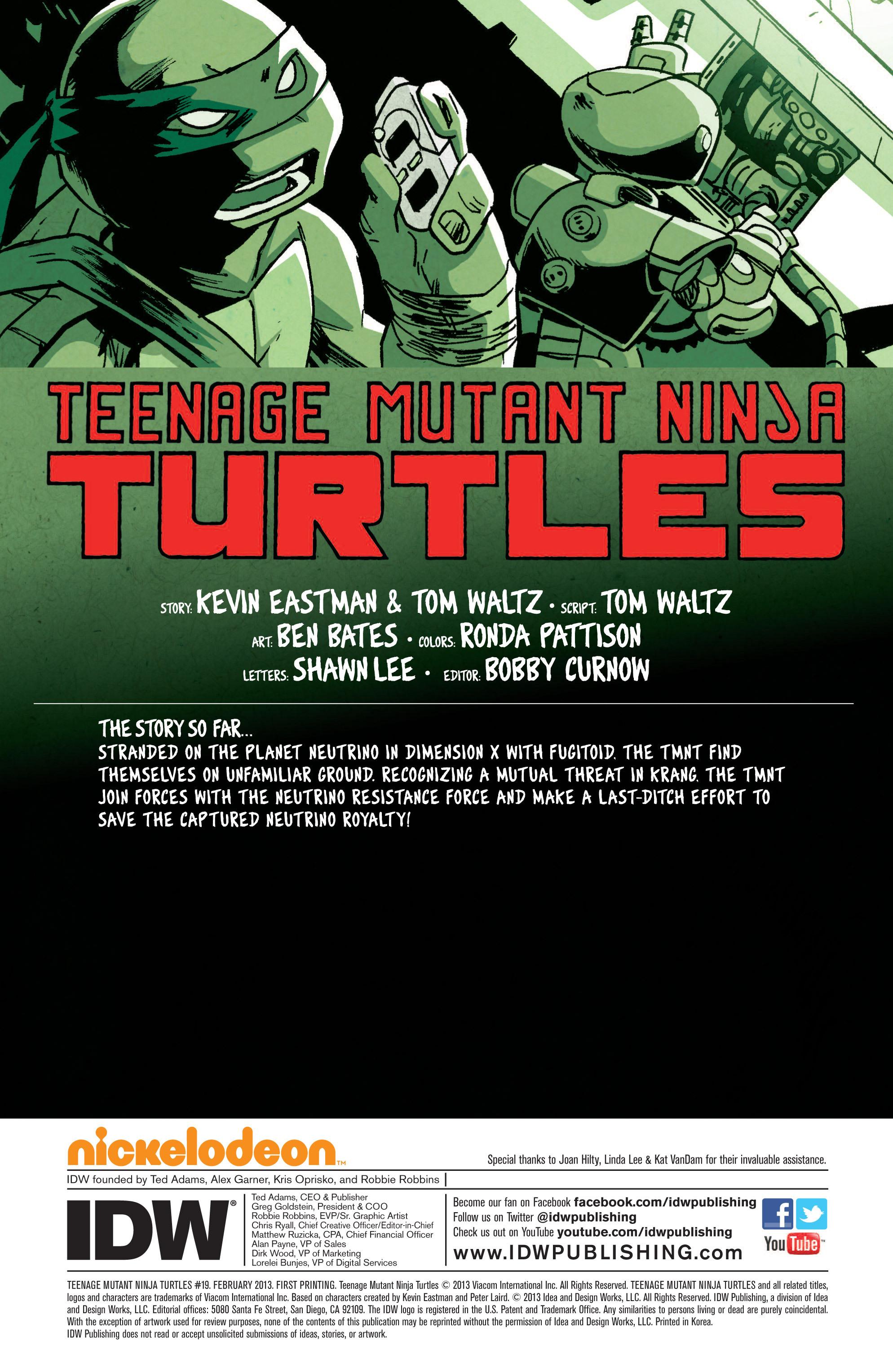 Read online Teenage Mutant Ninja Turtles (2011) comic -  Issue #19 - 4