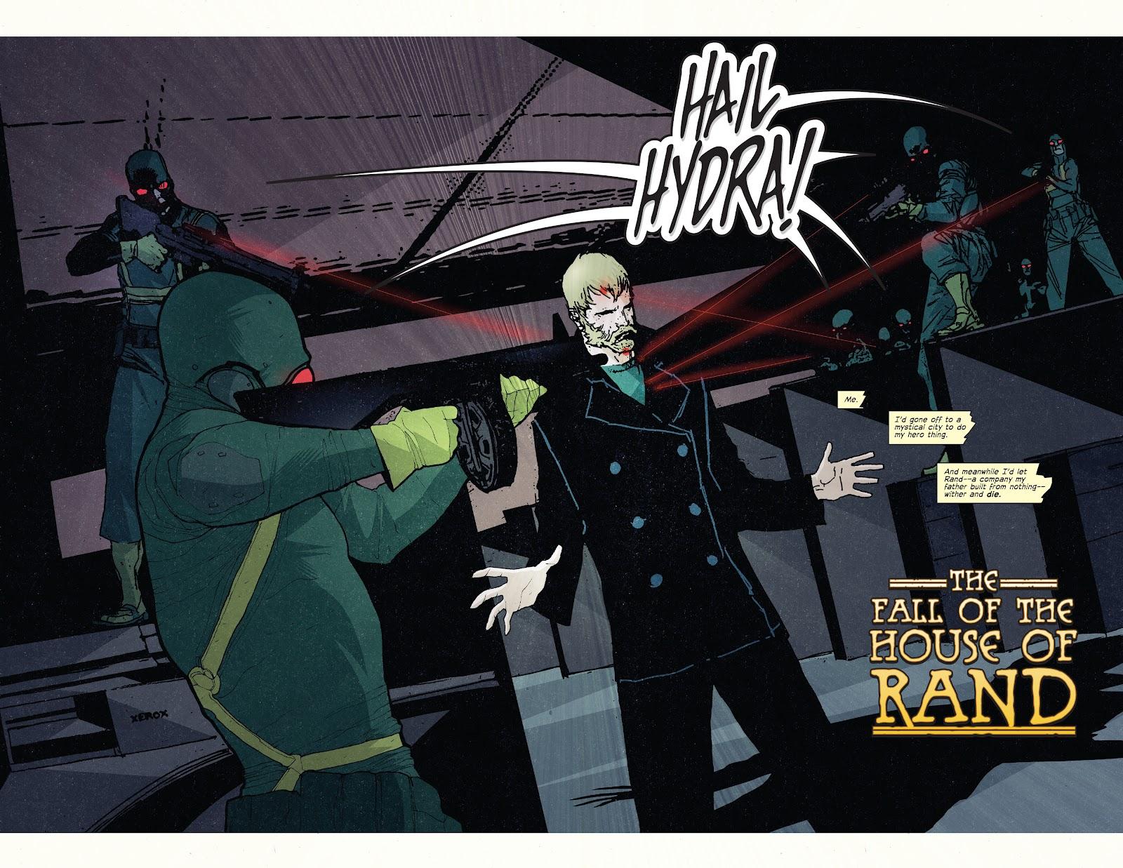 The Immortal Iron Fist Issue #27 #28 - English 4