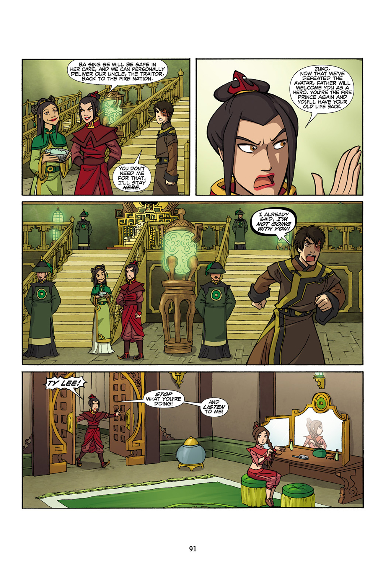 Nickelodeon Avatar: The Last Airbender - The Lost Adventures chap full pic 92