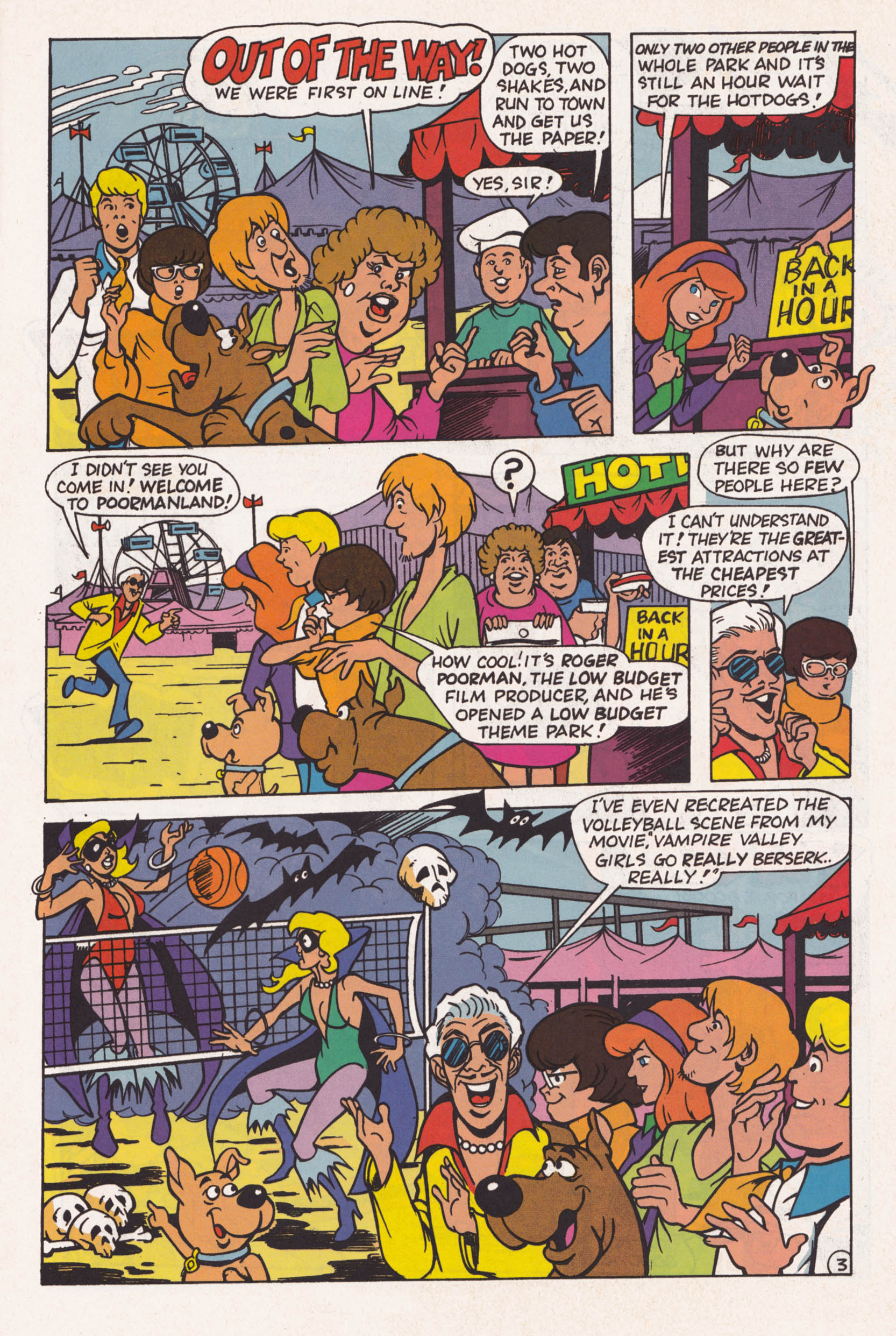 Read online Scooby-Doo (1995) comic -  Issue #1 - 4