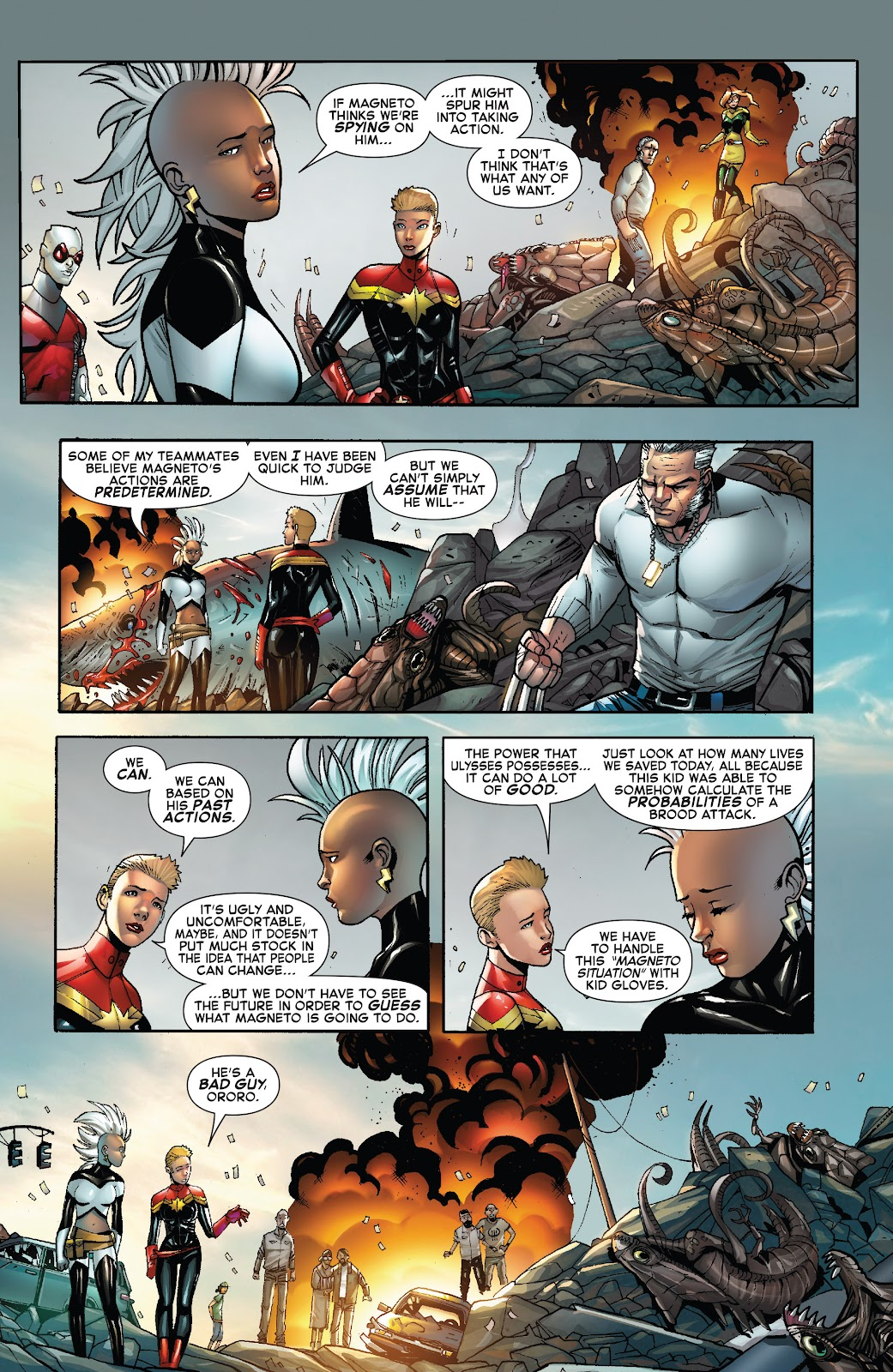 Civil War II: X-Men Issue #2 #2 - English 6