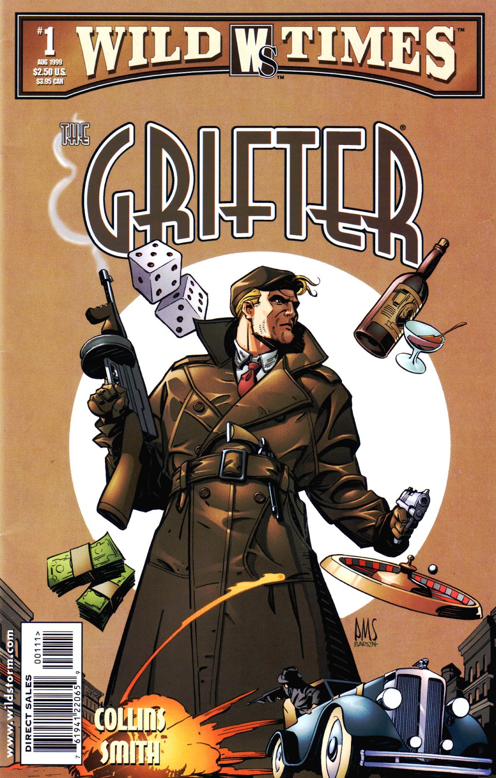 Read online Wild Times: Grifter comic -  Issue # Full - 1