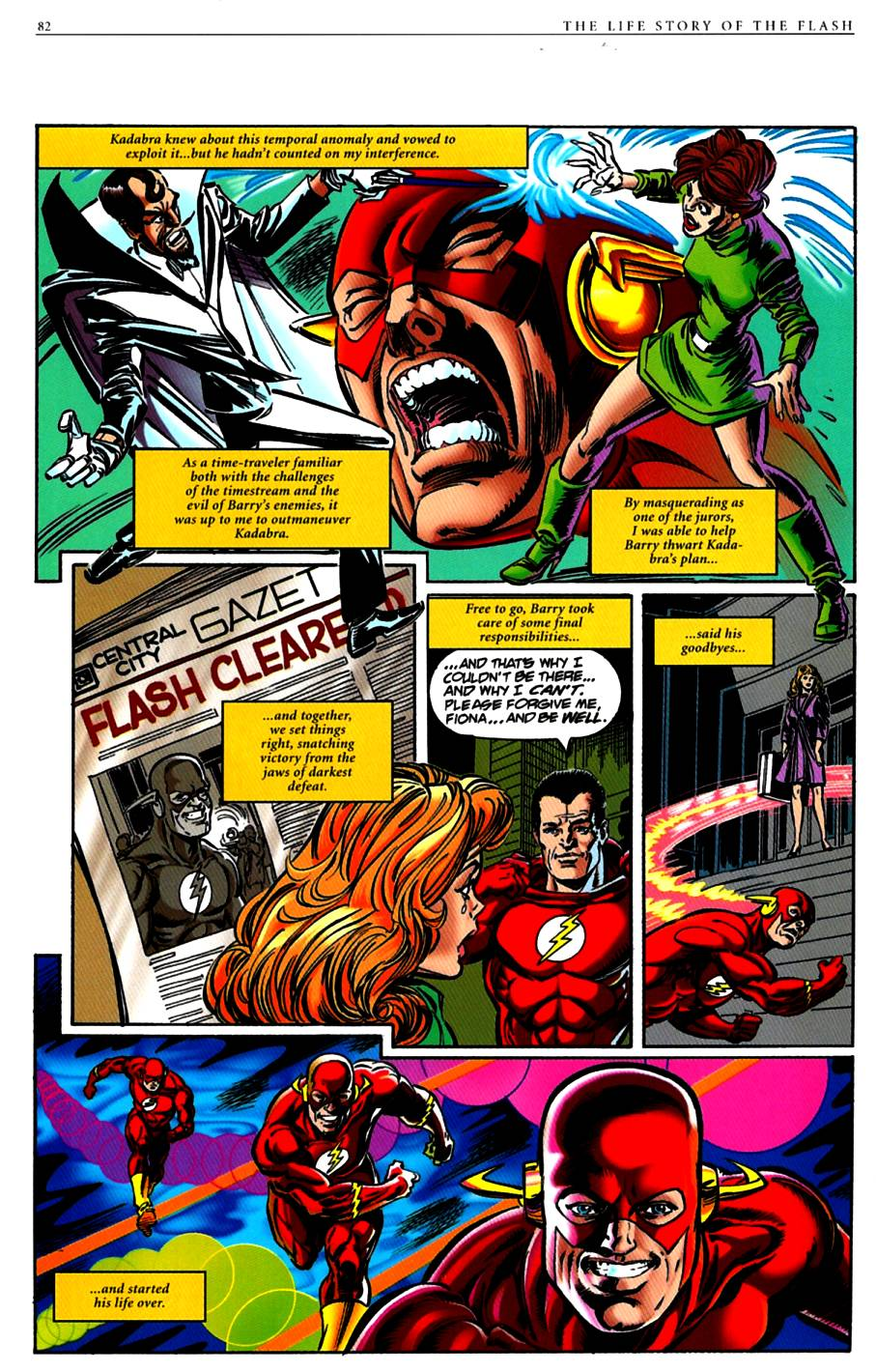 Read online The Life Story of the Flash comic -  Issue # Full - 84