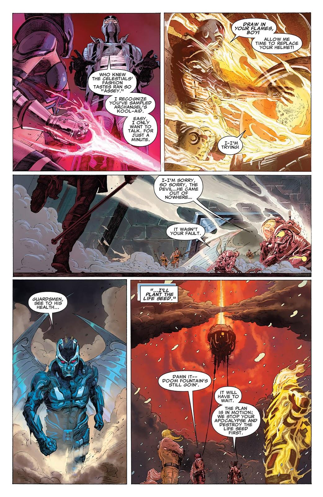 Uncanny X-Force (2010) Issue #17 #18 - English 8