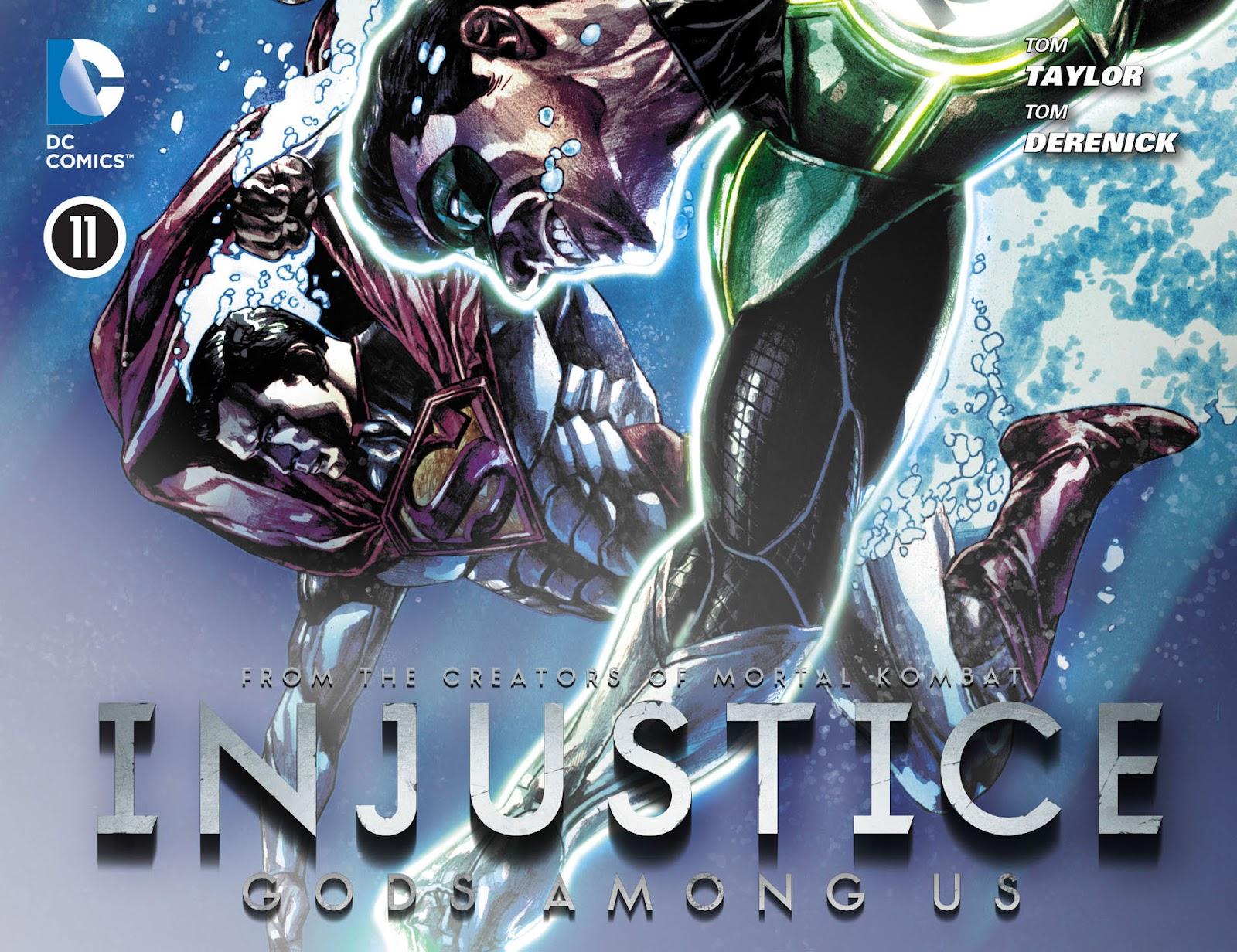 Injustice: Gods Among Us [I] Issue #11 #12 - English 1