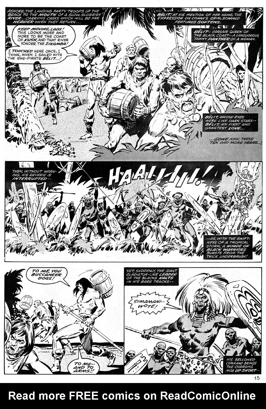The Savage Sword Of Conan Issue #41 #42 - English 15