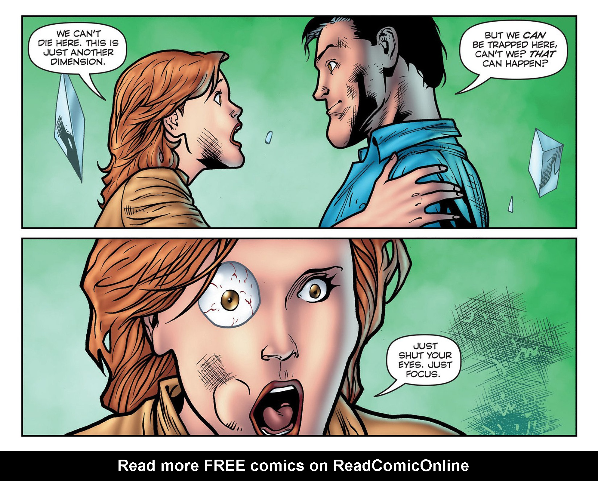 Read online Evil Dead 2: Cradle of the Damned comic -  Issue #3 - 14
