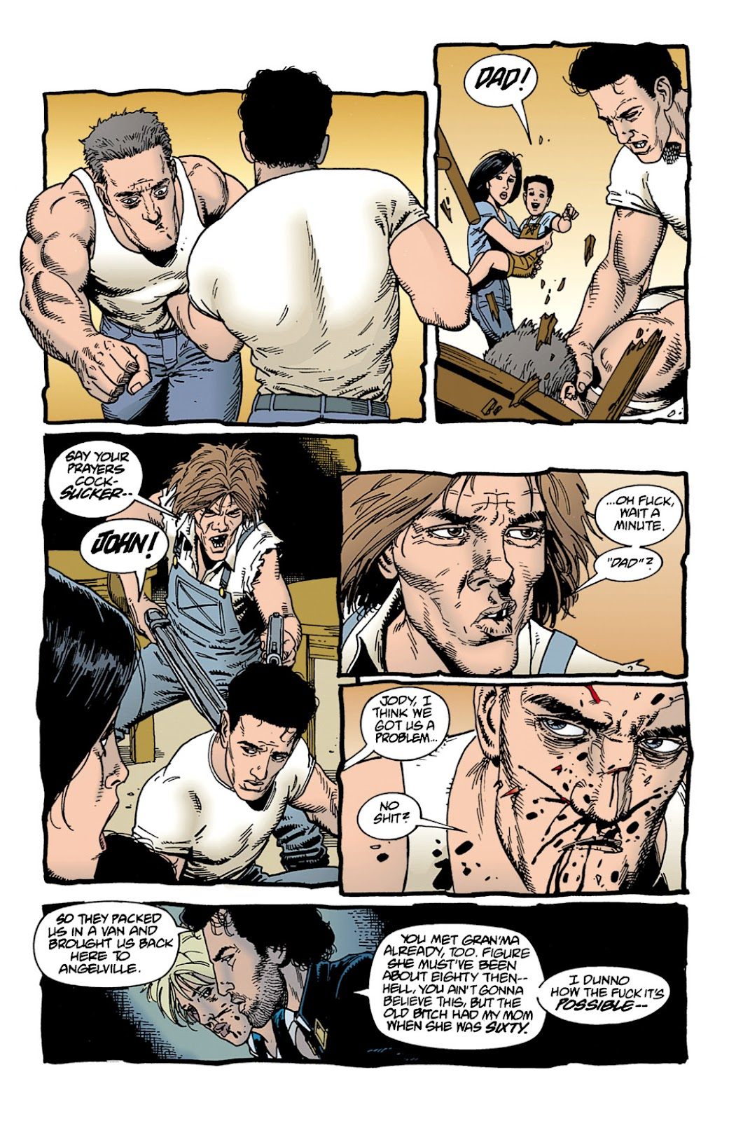 Preacher Issue #9 #18 - English 12