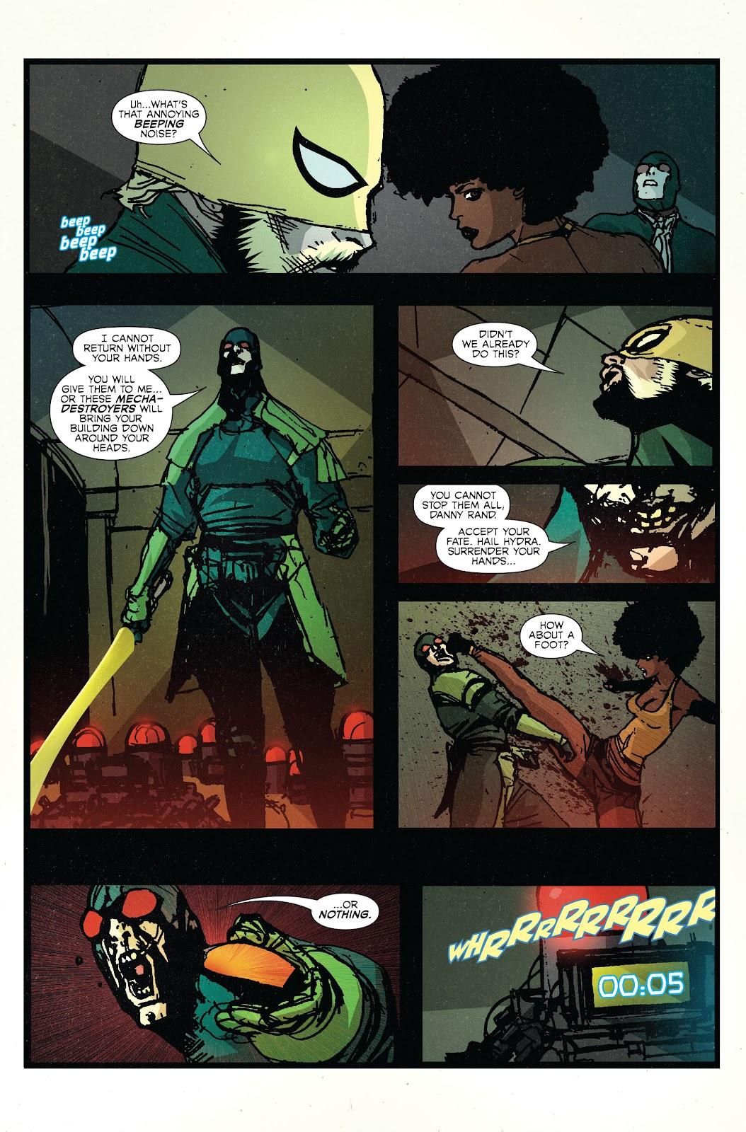 The Immortal Iron Fist Issue #27 #28 - English 18