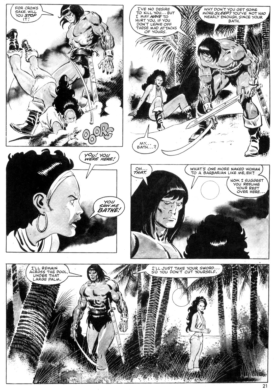 The Savage Sword Of Conan Issue #55 #56 - English 21