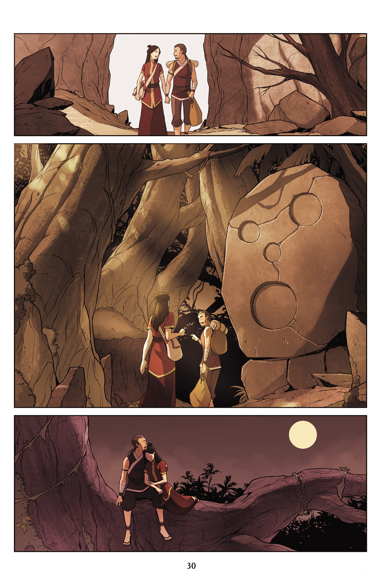 Read online Nickelodeon Avatar: The Last Airbender - The Search comic -  Issue # Part 3 - 31