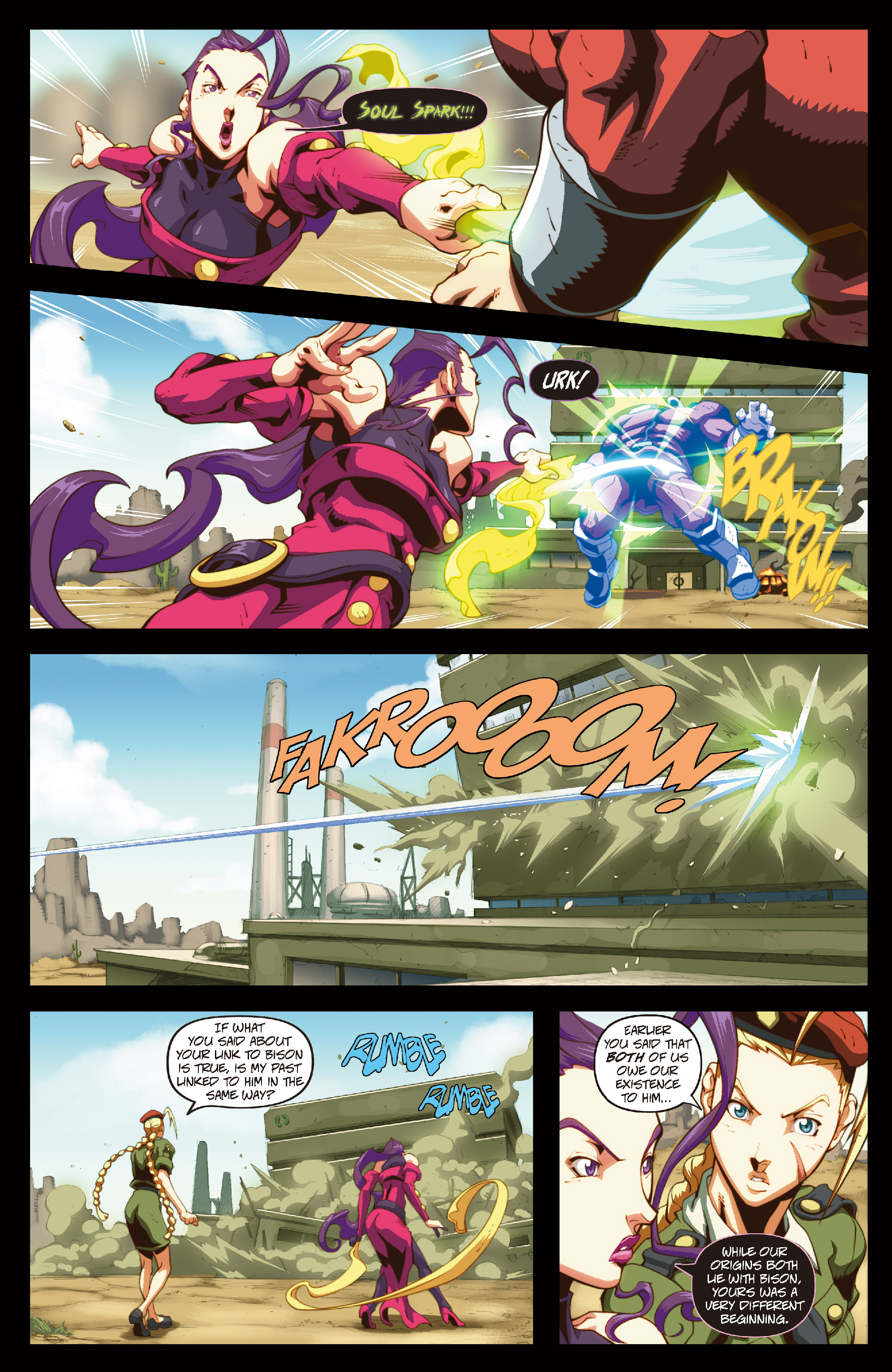 Street Fighter II chap 6 pic 10