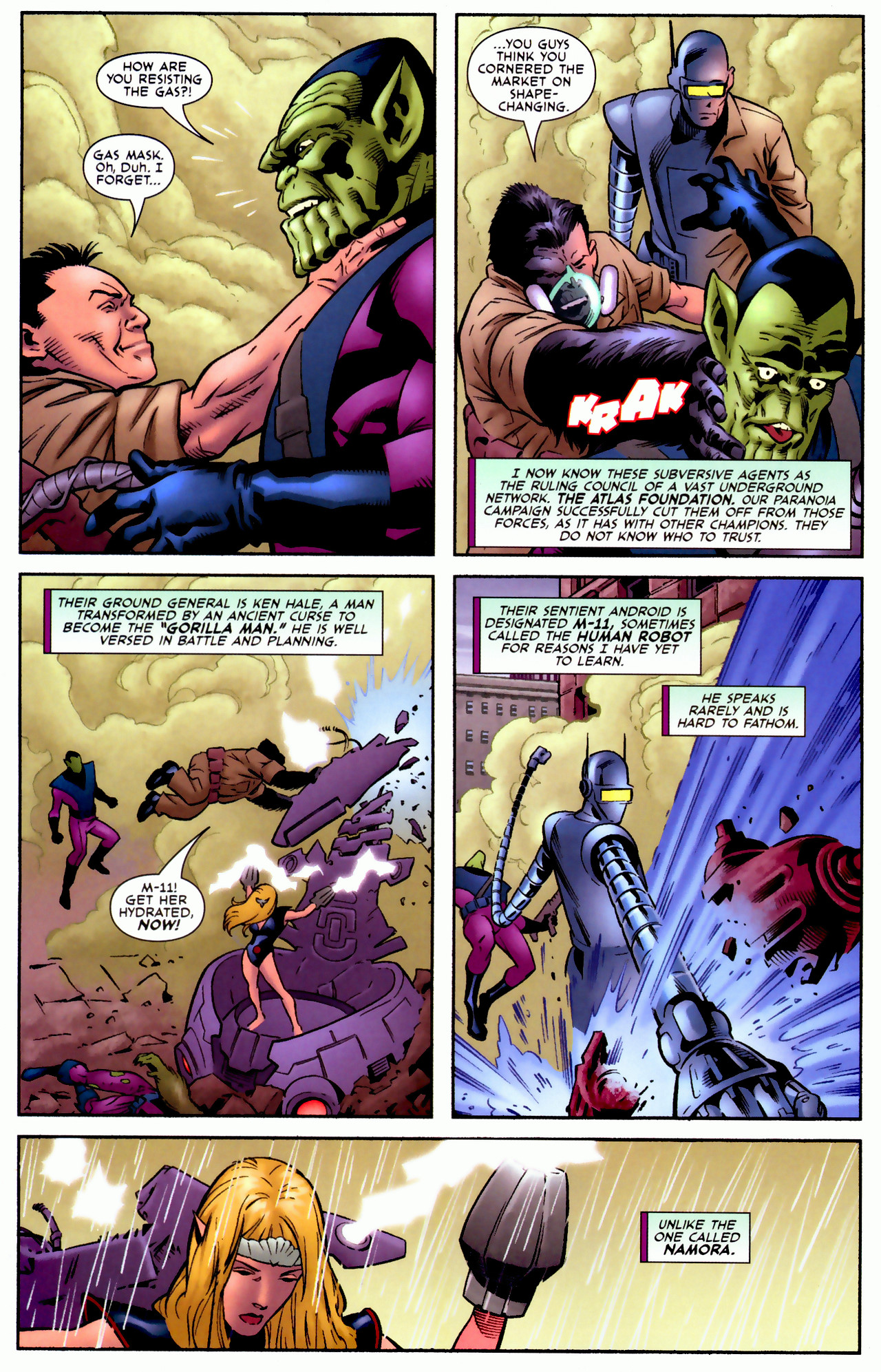 Read online Secret Invasion: Who Do You Trust? comic -  Issue # Full - 39