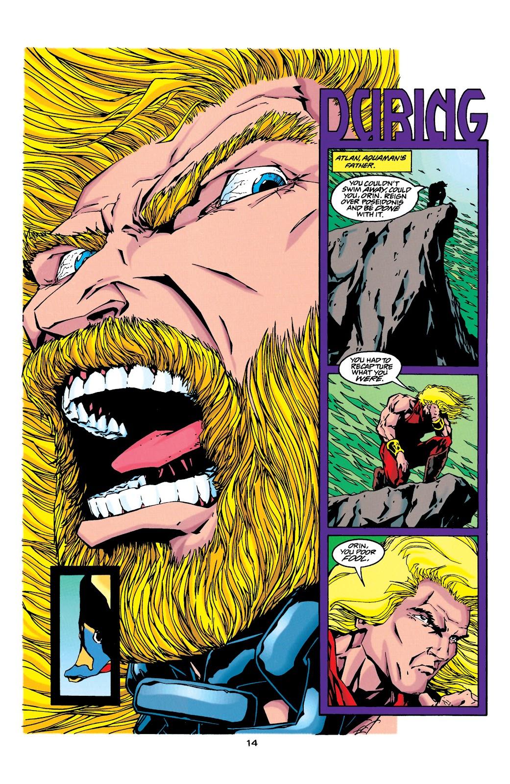Aquaman (1994) Issue #34 #40 - English 12