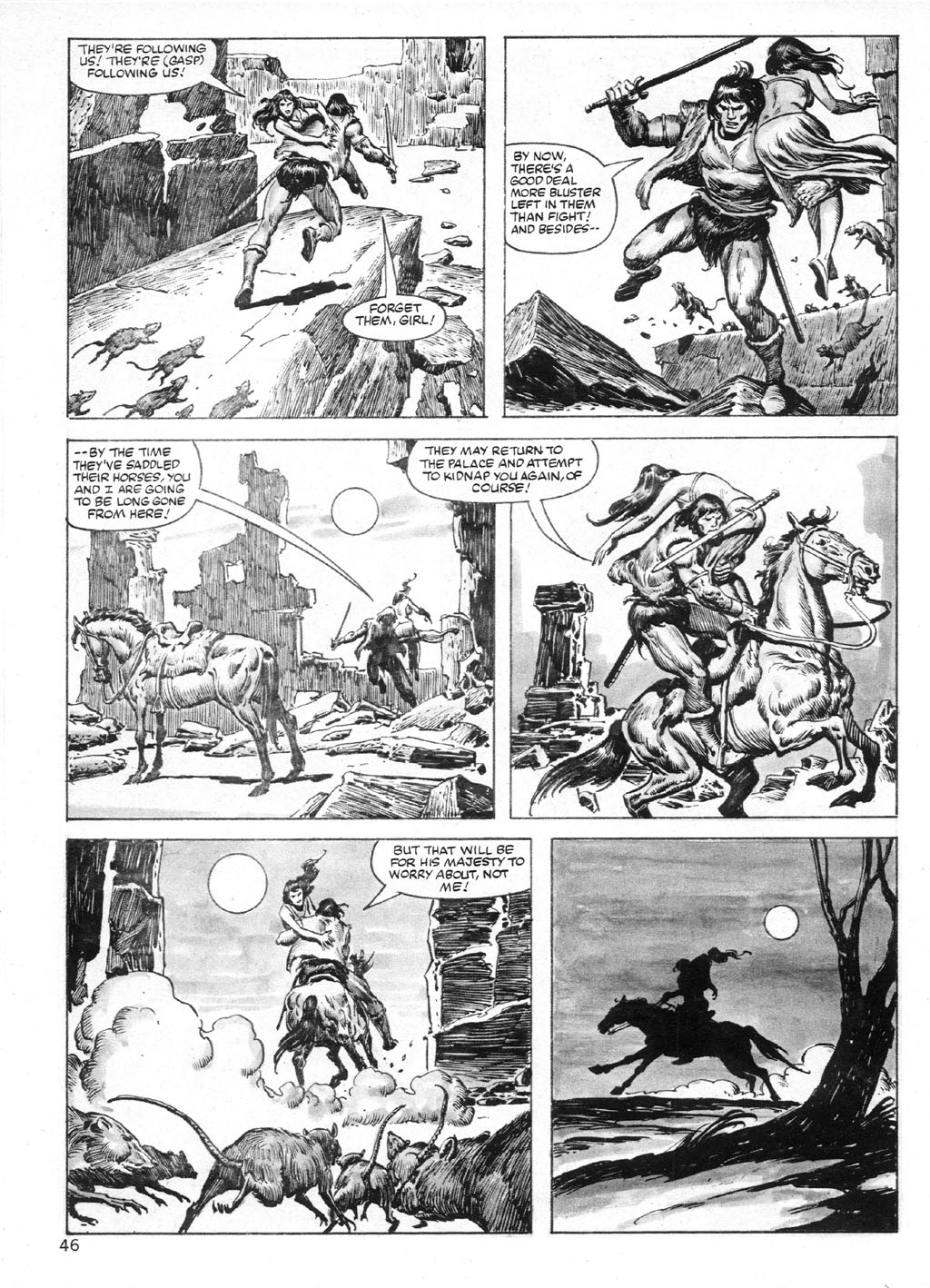 The Savage Sword Of Conan Issue #95 #96 - English 46