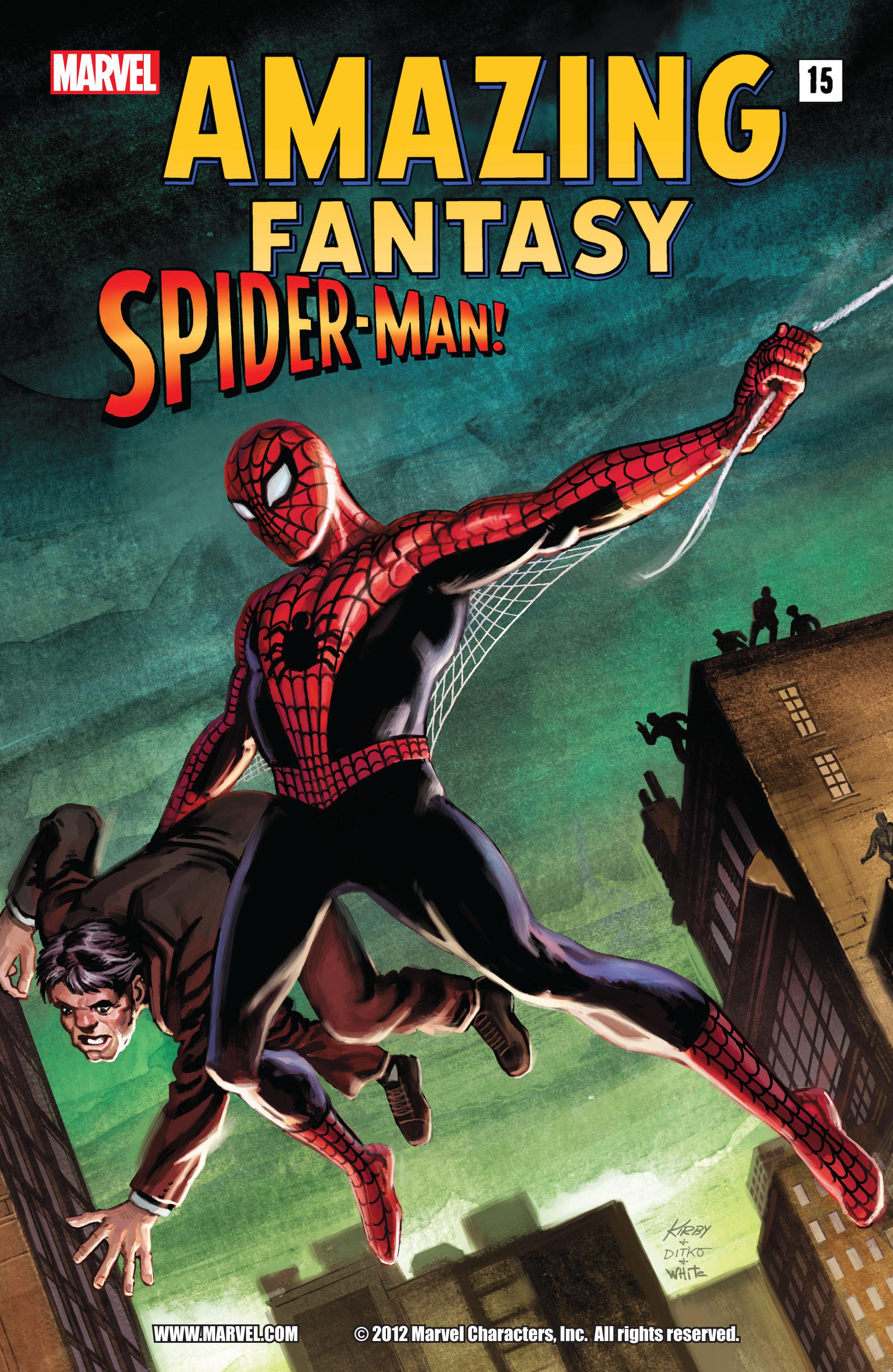 Amazing Fantasy #15: Spider-Man! Full Page 1