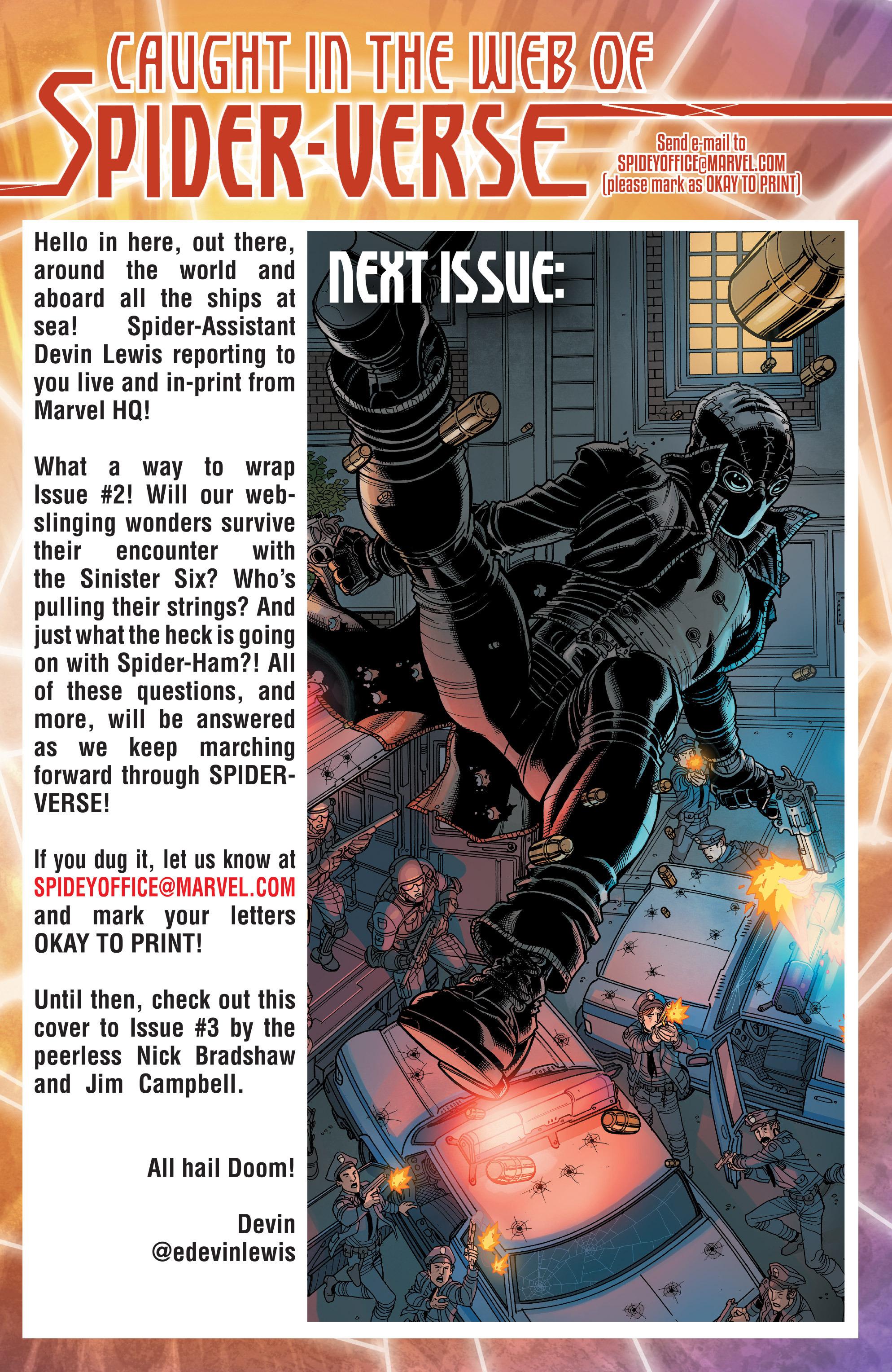 Read online Spider-Verse [II] comic -  Issue #2 - 22