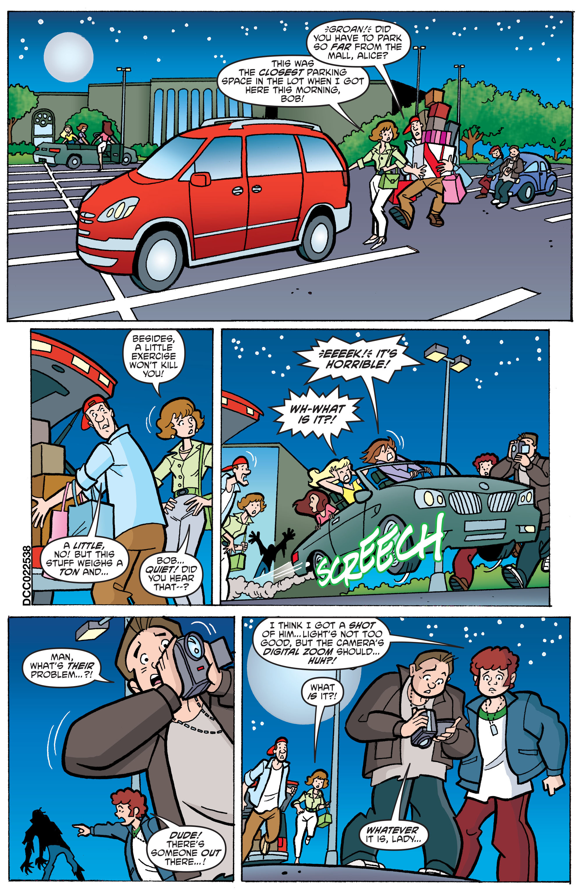 Read online Scooby-Doo: Where Are You? comic -  Issue #65 - 12